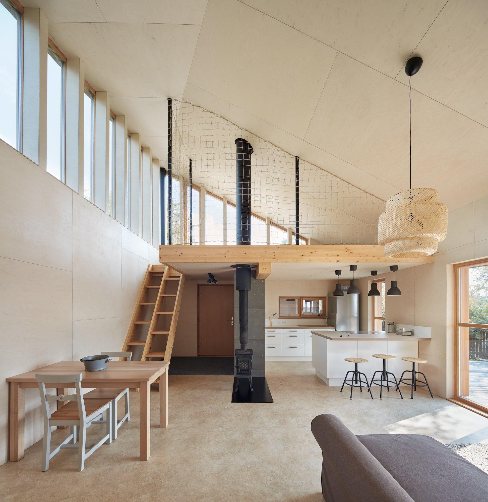 Dům inspirovaný valašskou architekturou