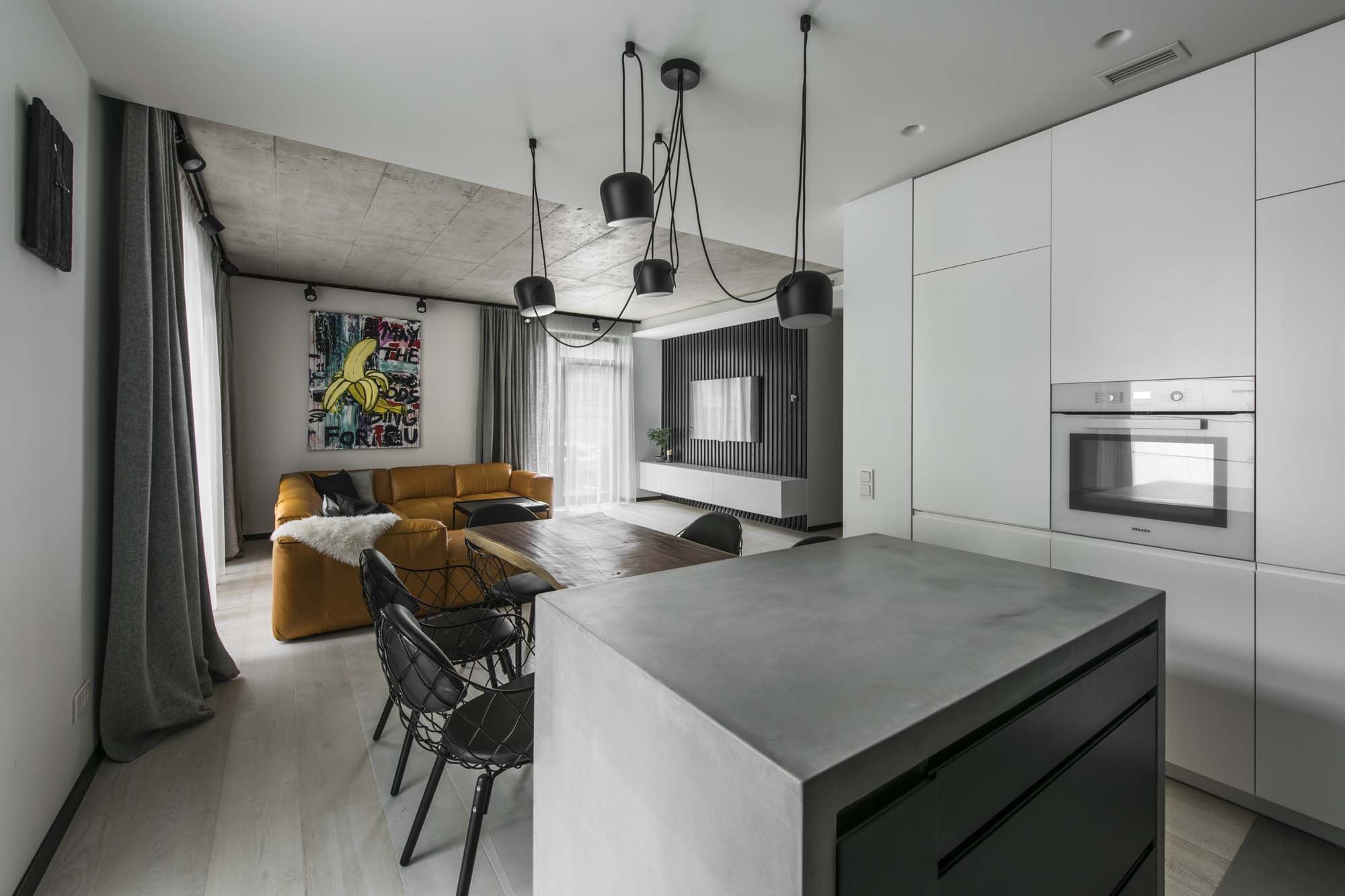 Autorem tohoto minimalistického bytu o velikosti 91 metrů čtverečních v litevském Vilniusu je architekt Indre Sunklodiene ze Studio InArch, který navrhl bydlení pro mladý pár, kterému se líbí jednoduchost – minimálně co se bydlení týče.