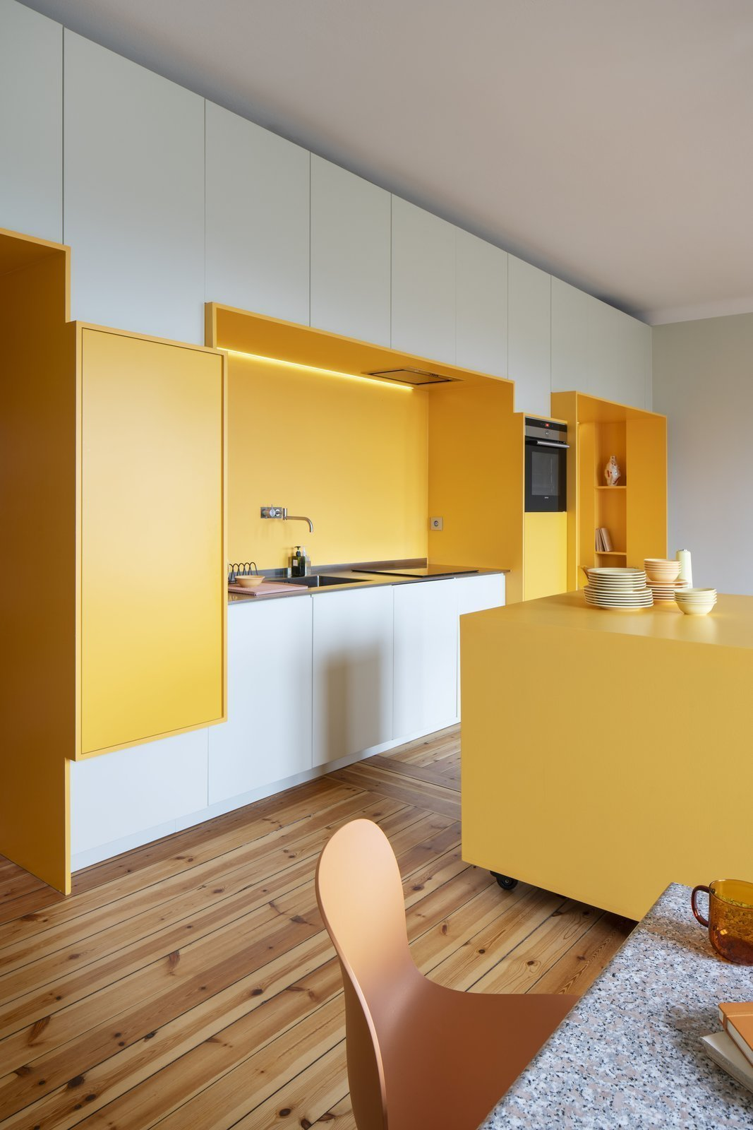 Když má klient rád žlutou