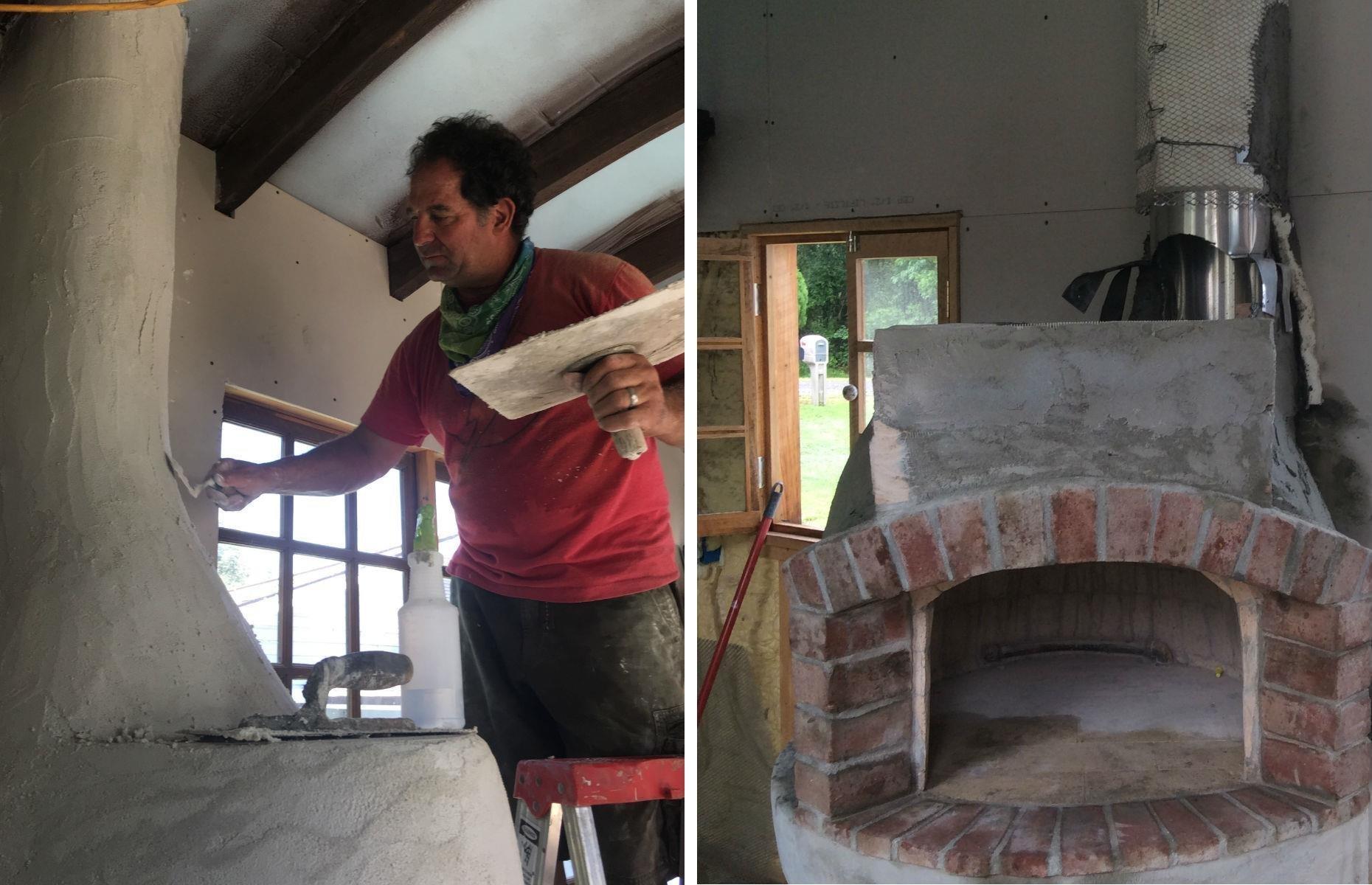 Vysněný domek na kolečkách s vlastní pecí na pizzu