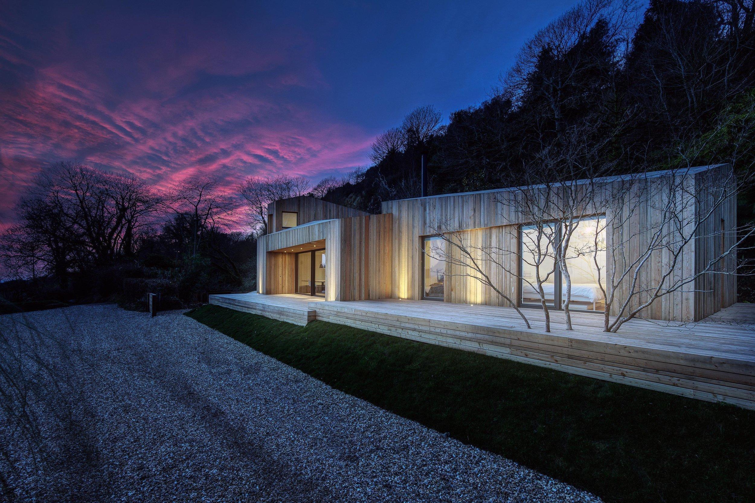 Dům chráněný proti sesuvům půdy