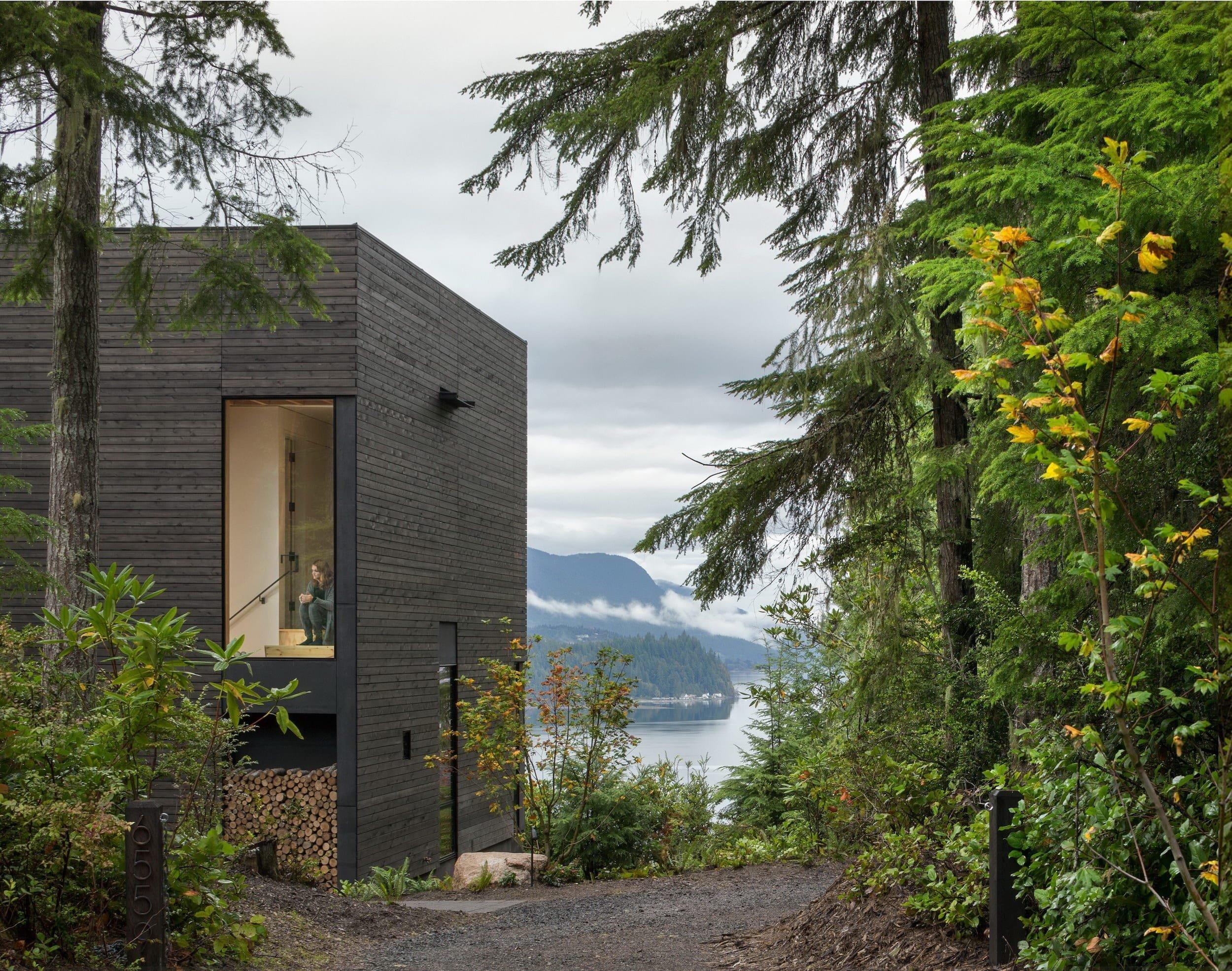 Malý dům maximalizuje spojení s přírodou