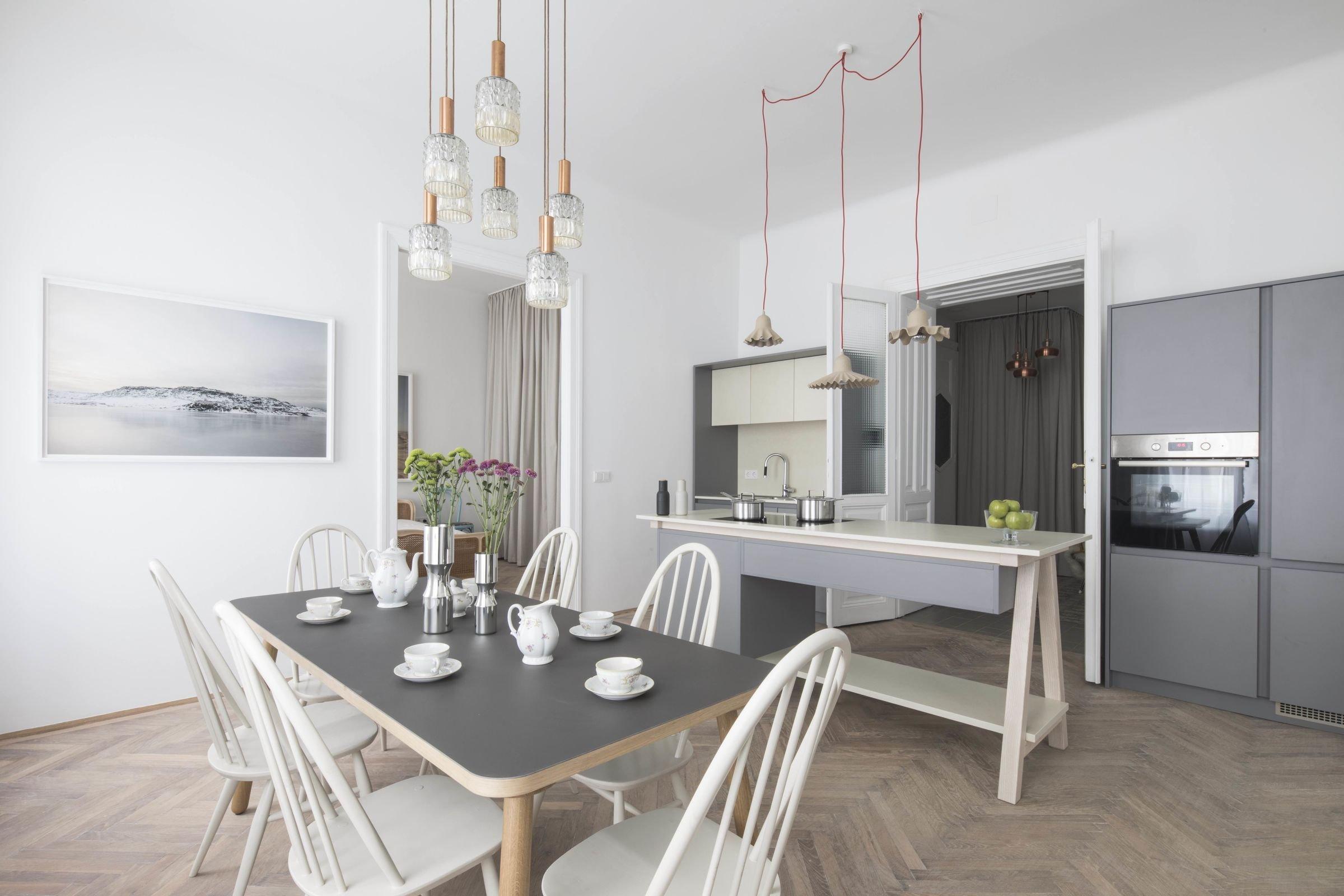 Rekonstrukce starého klasického vídeňského bytu