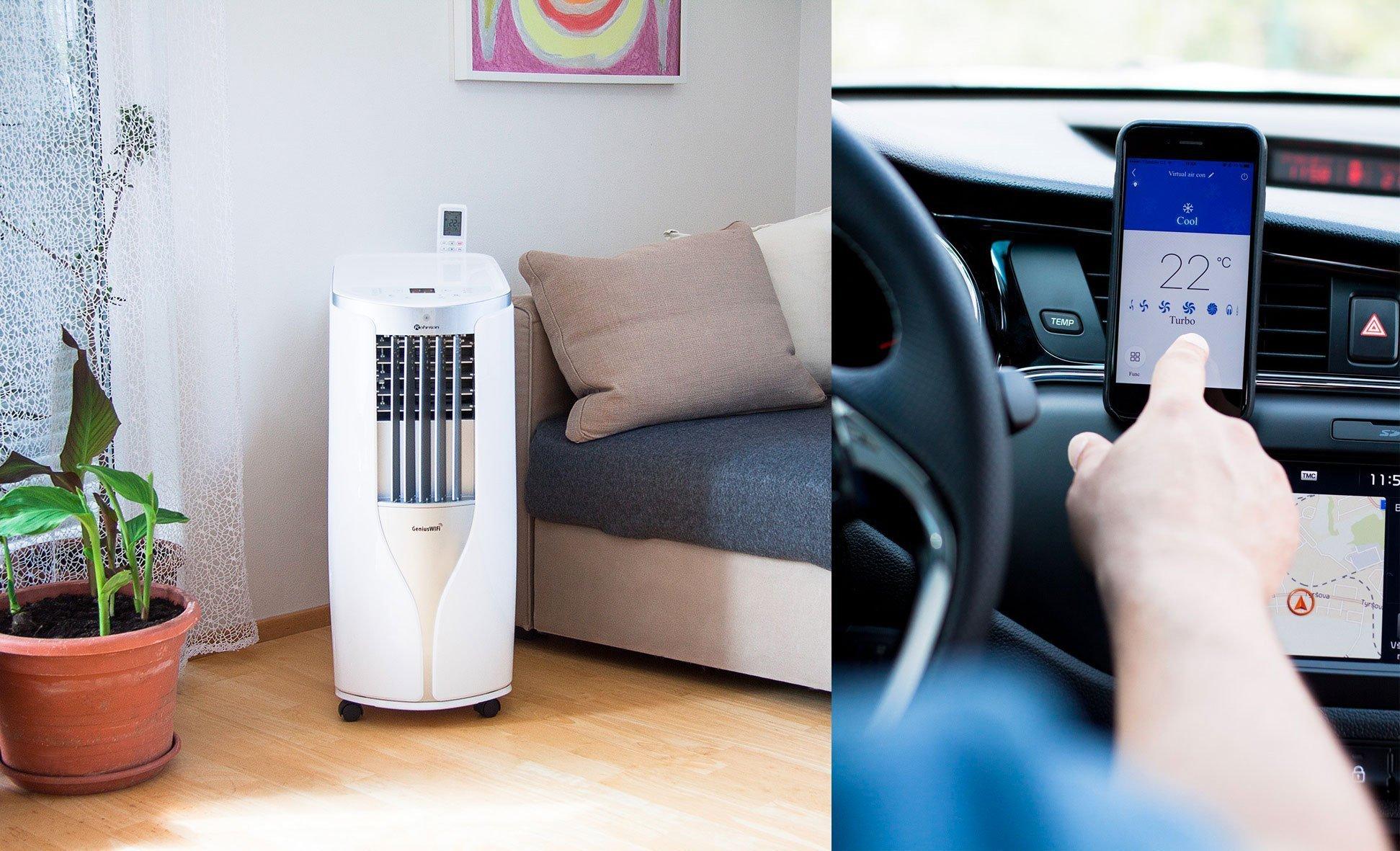 V letních vedrech oceníte mírné klima vašeho domova. Kvalitní klimatizace dokáže váš domov nejen ochladit, ale také účinně odvlhčit, navíc můžete využít třeba i ovládání přes telefon nebo centrální jednotku chytré domácnosti.