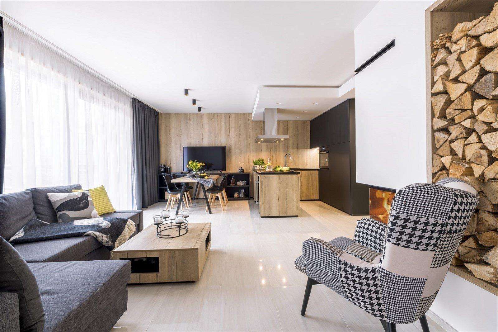 Horský apartmán s výhledem do přírody se stal druhým domovem