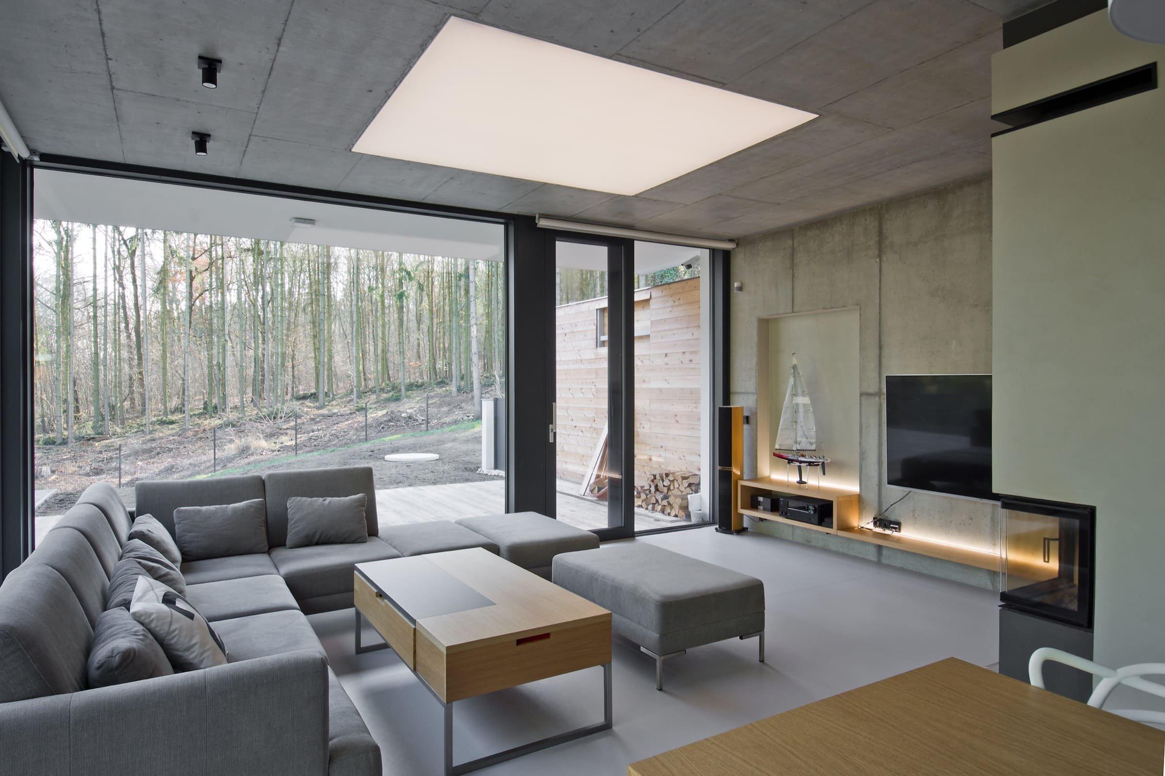 Moderní rodinný dům v Dobřichovicích