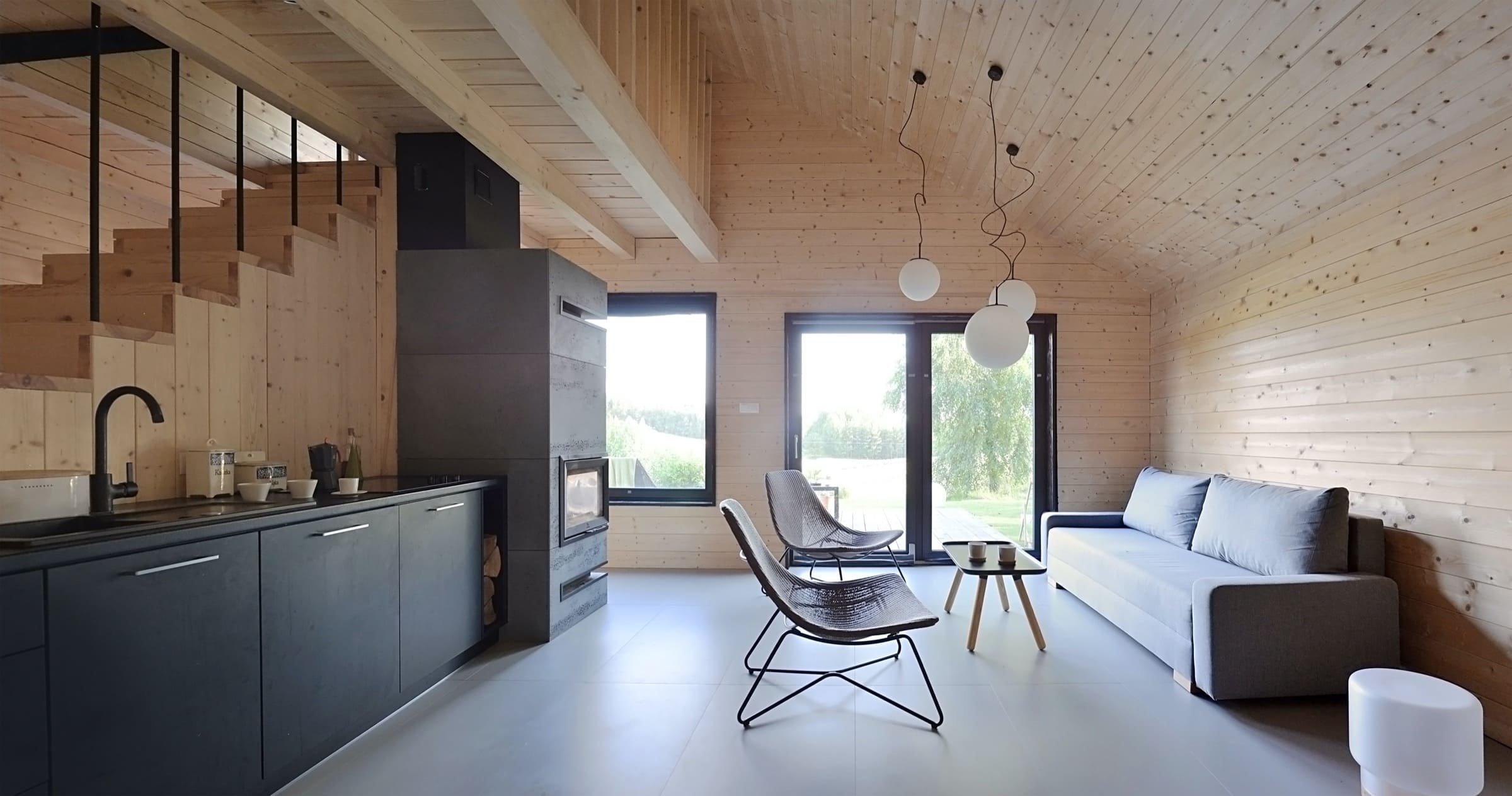 Netradiční dřevostavba za cenu bytu