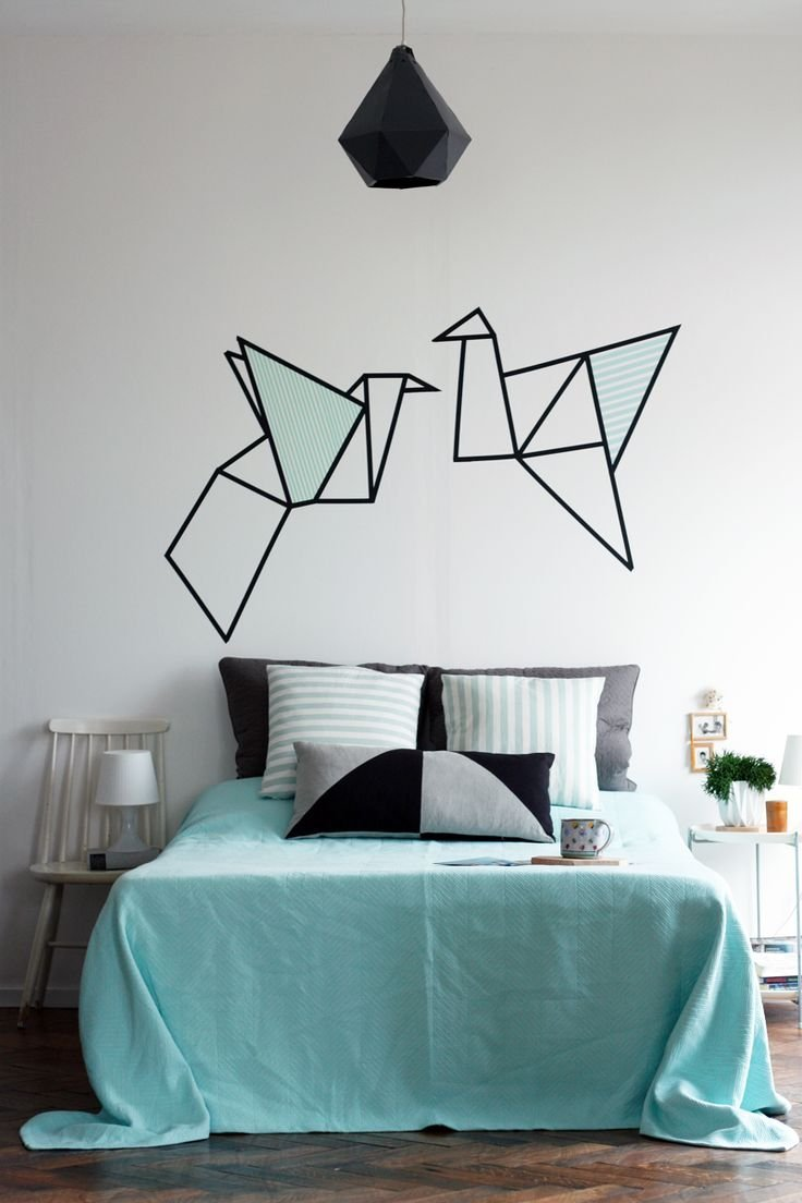 Inspirace japonskými origami.