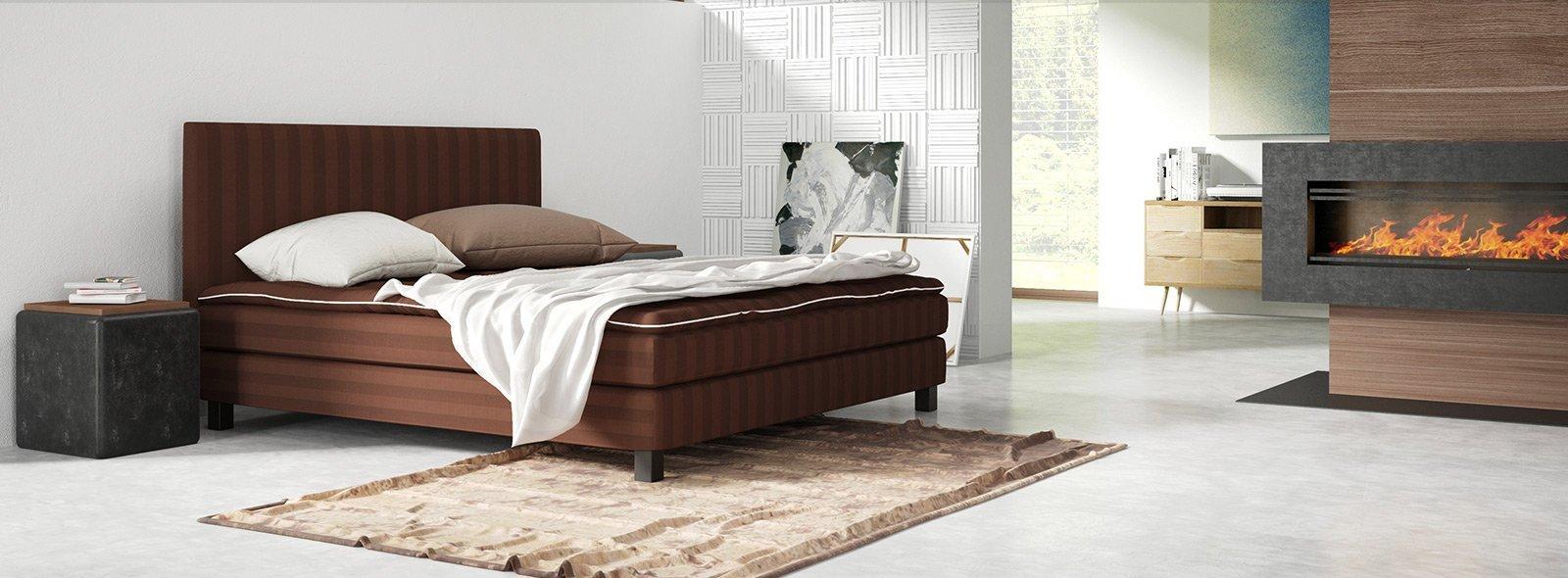 Postel Nuova od firmy Saffron Beds.