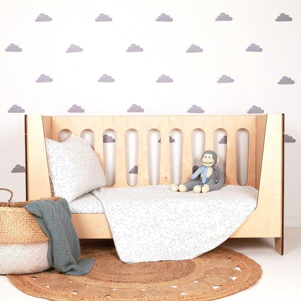 Tapety pro děti mohou být opravdu stylové a nevtíravé.