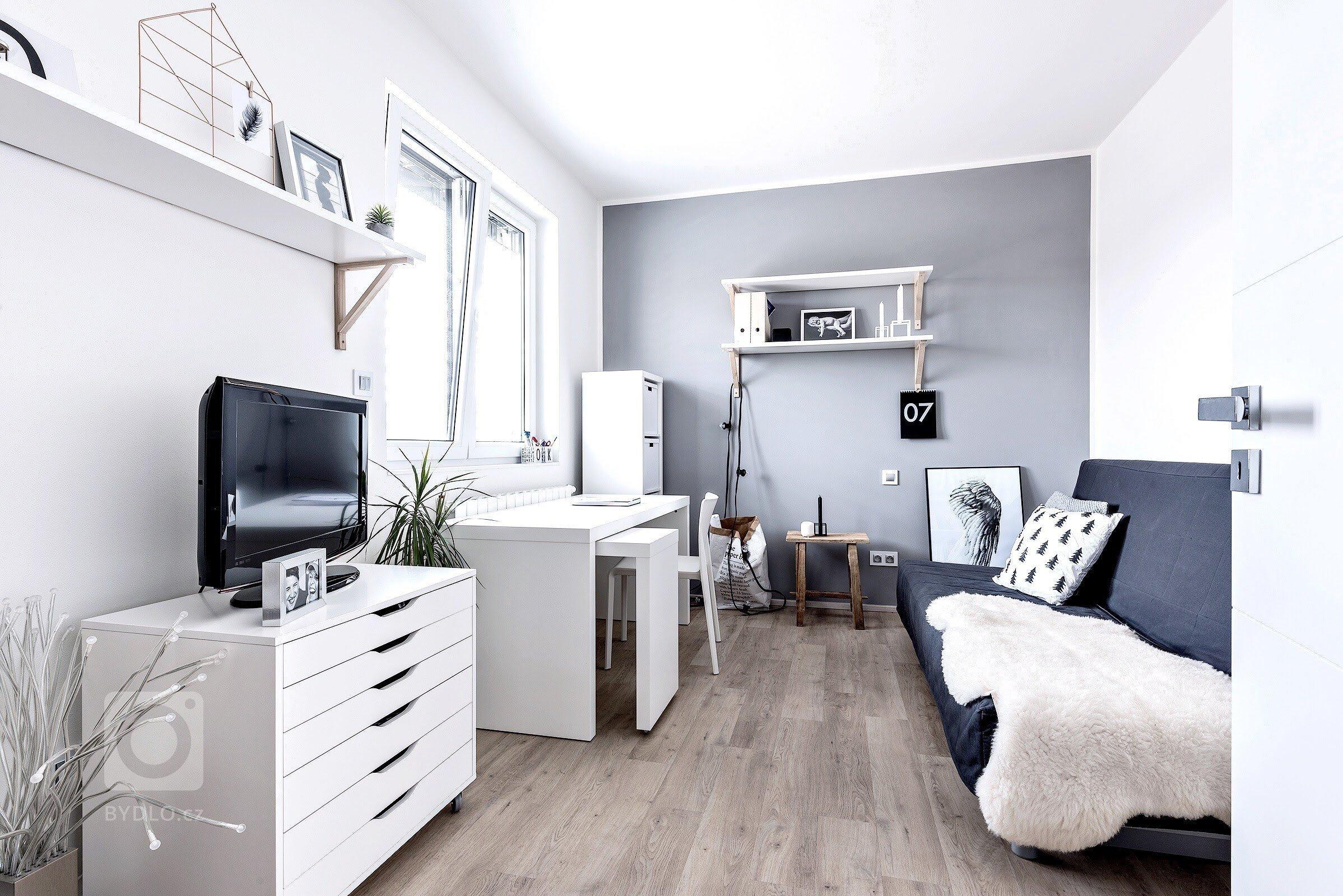Skutečné bydlení ve skandinávském stylu
