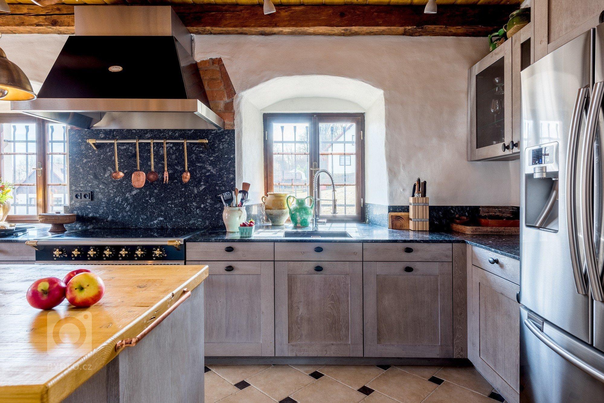 Rustikální kuchyně jako šperk