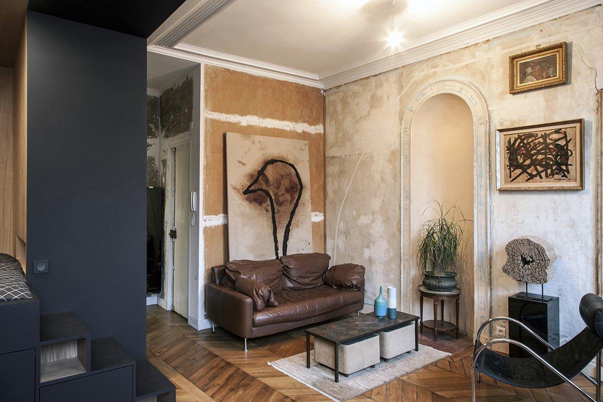 Luxusní interiér v garsonce