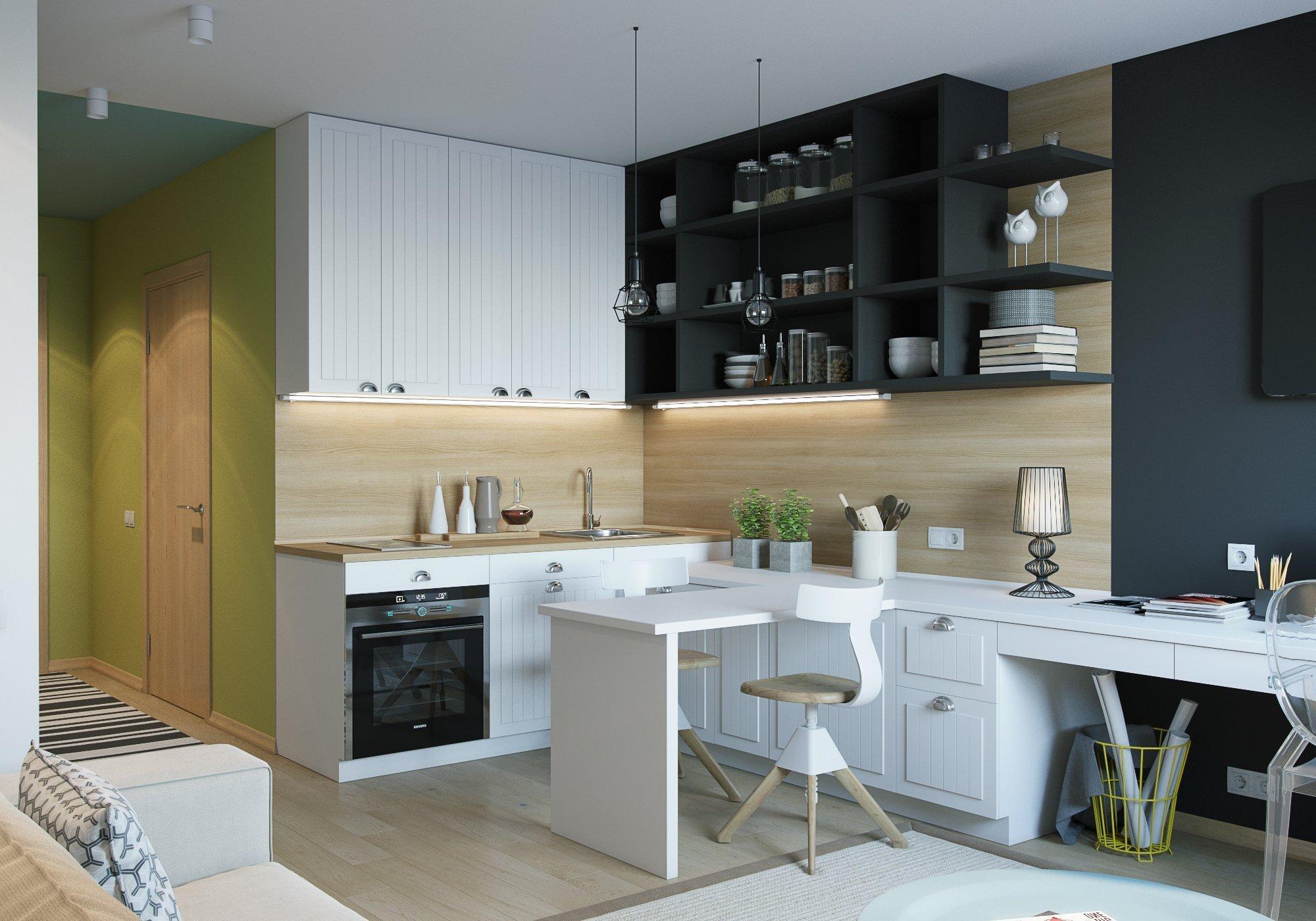 První bydlení mladých lidí bývají zpravidla malé byty nebo garsonky. Ovšem i málo prostoru dokáže poskytnout veškeré zázemí ke komfortnímu bydlení včetně dostatečného úložného prostoru.