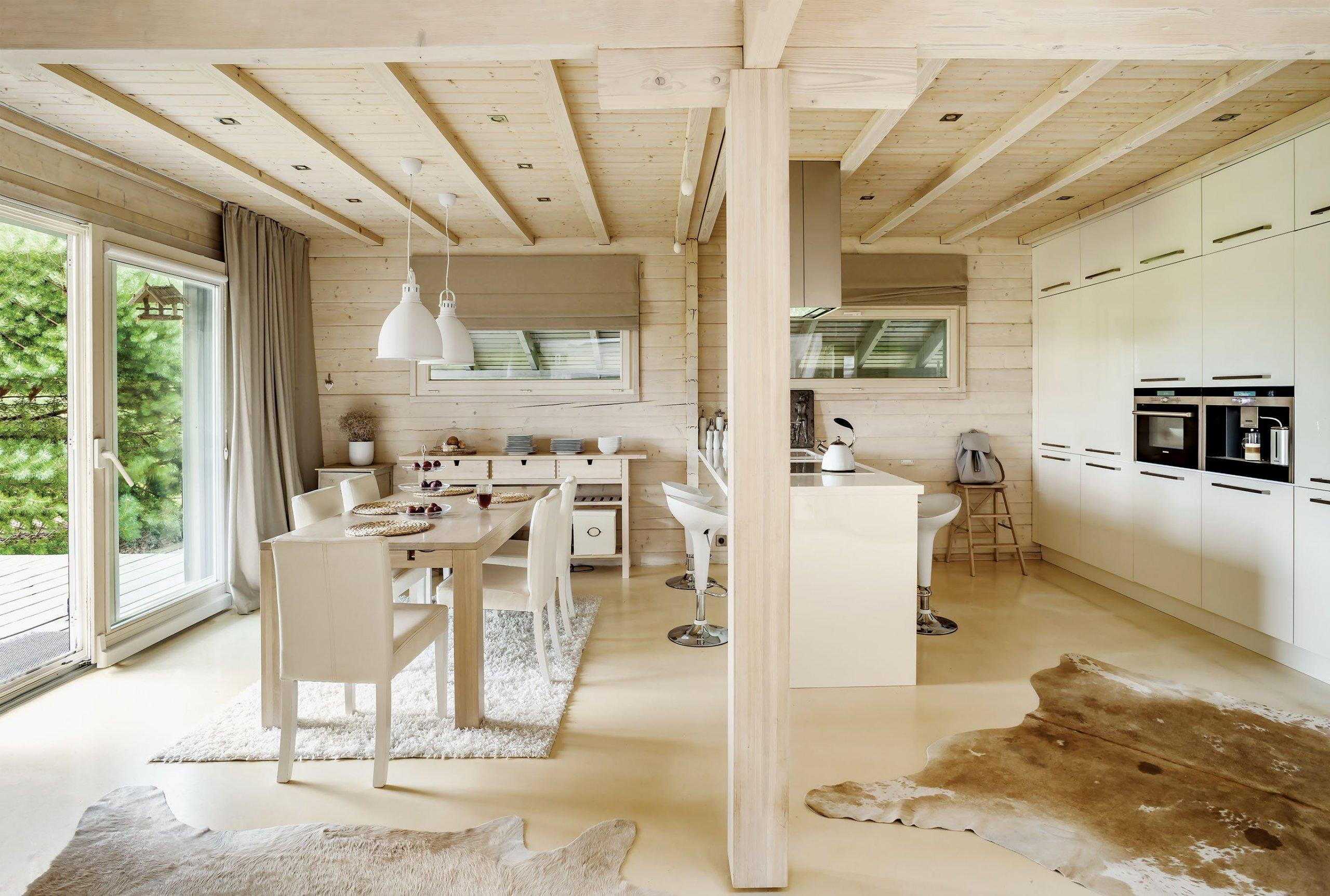 Ekologický dům ve skandinávském stylu