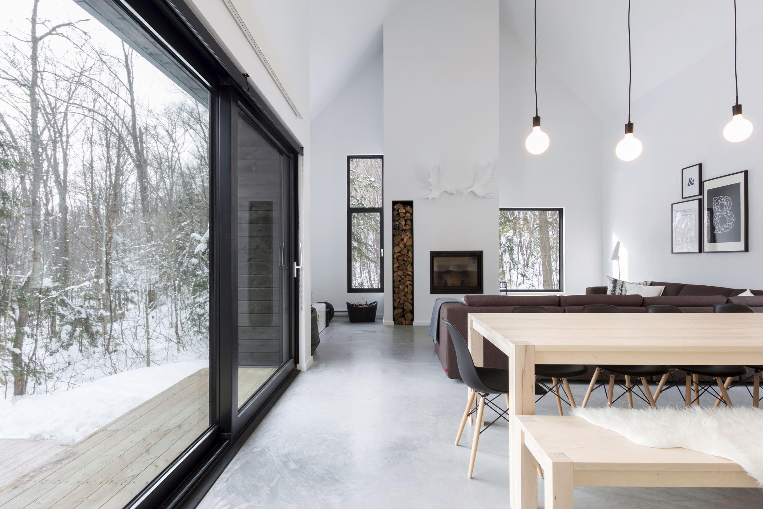 Zasněžená Villa Boreale