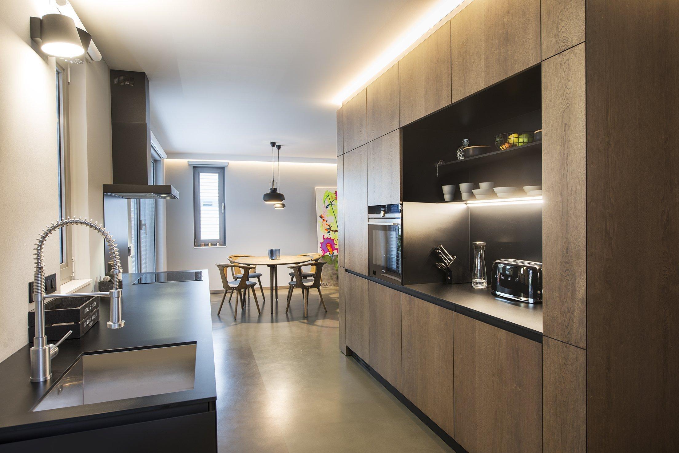 Komfortní loft s precizním řemeslným zpracováním