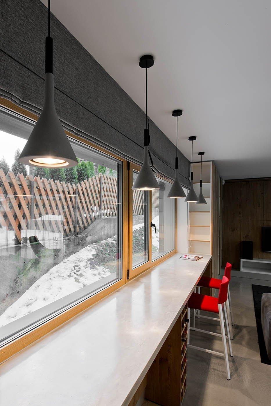 Minimalistický interiér v Litvě