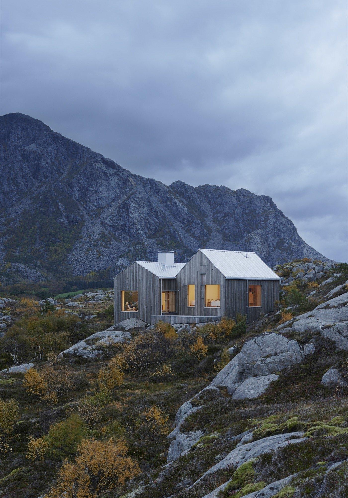 Dům nedaleko polárního kruhu