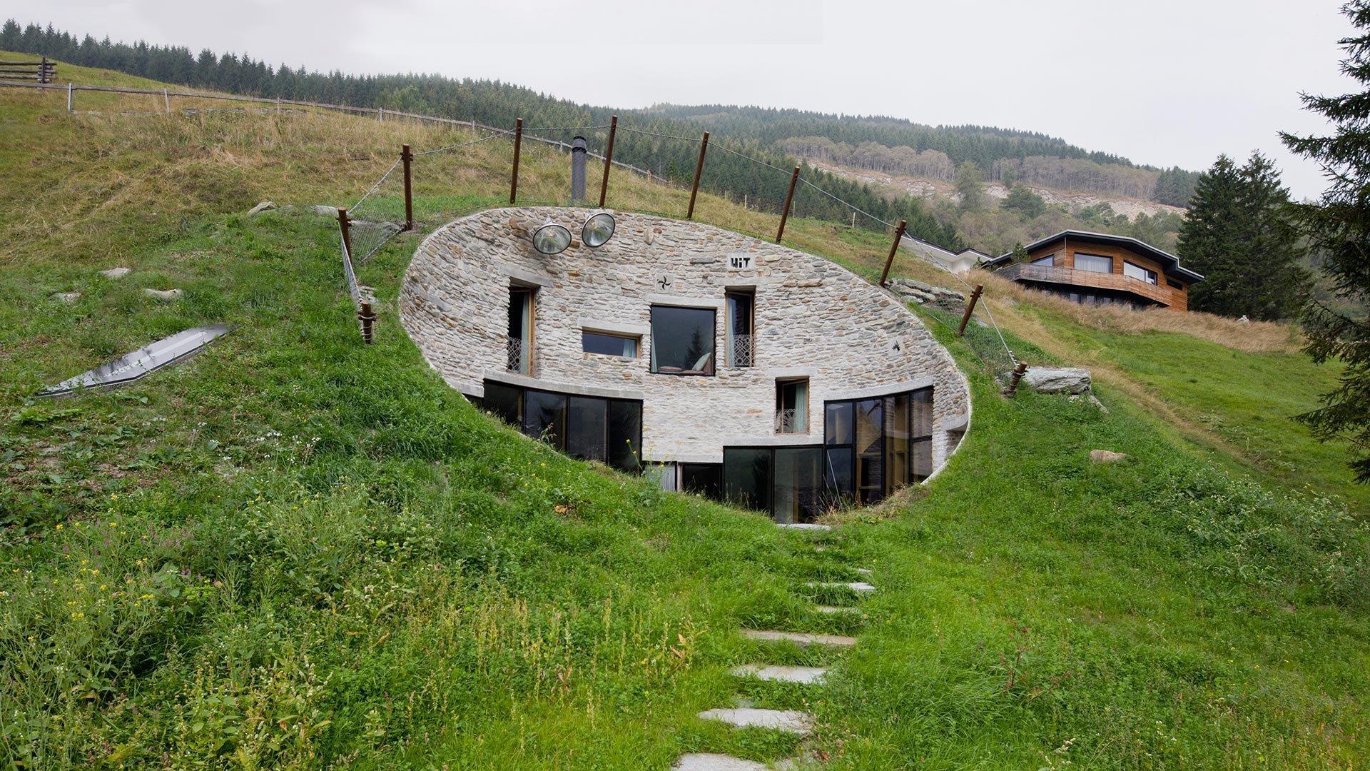 Dům pod zemí? Ano pojďte nakouknout!