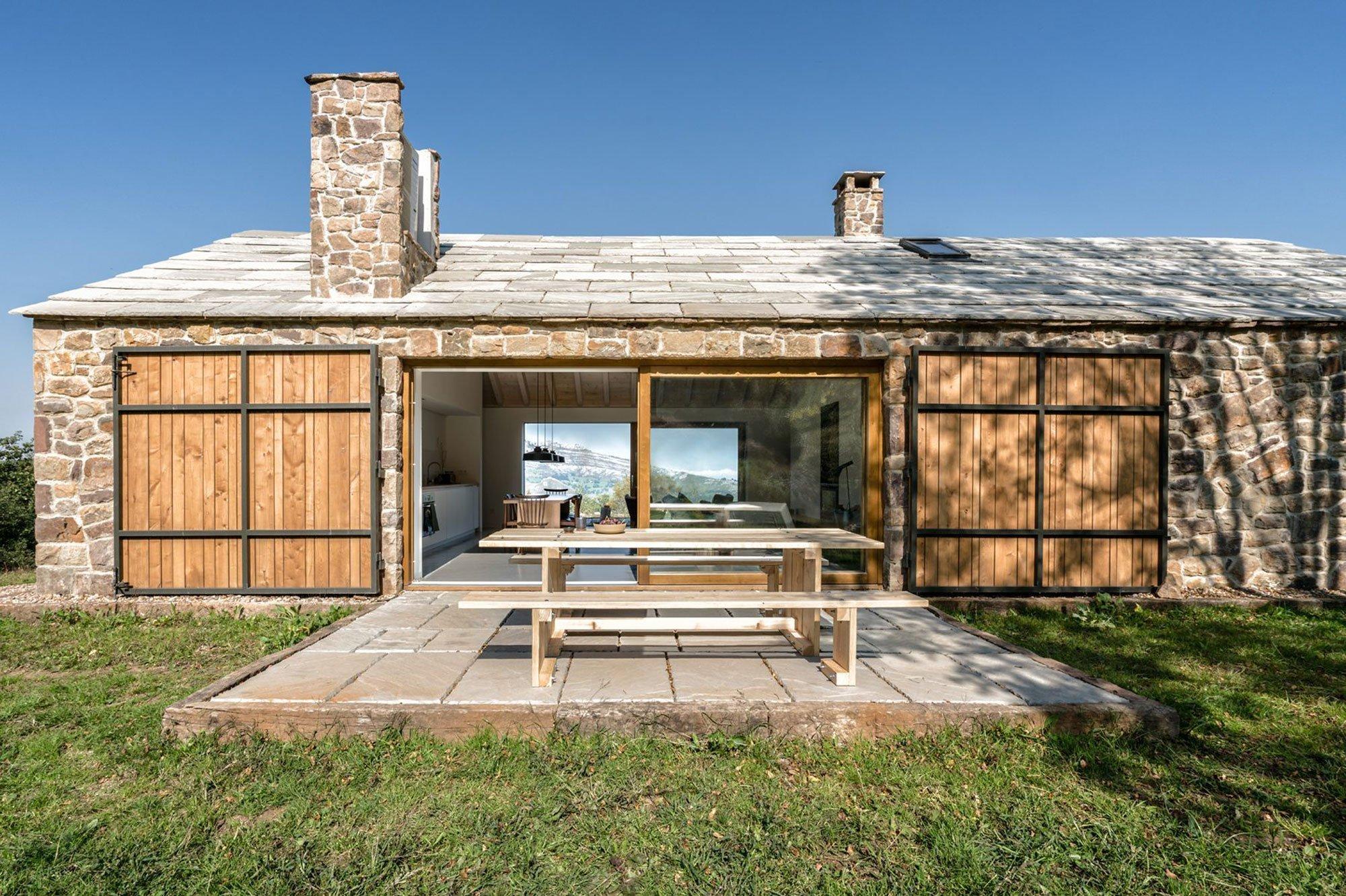 Víkendový dům na kopci