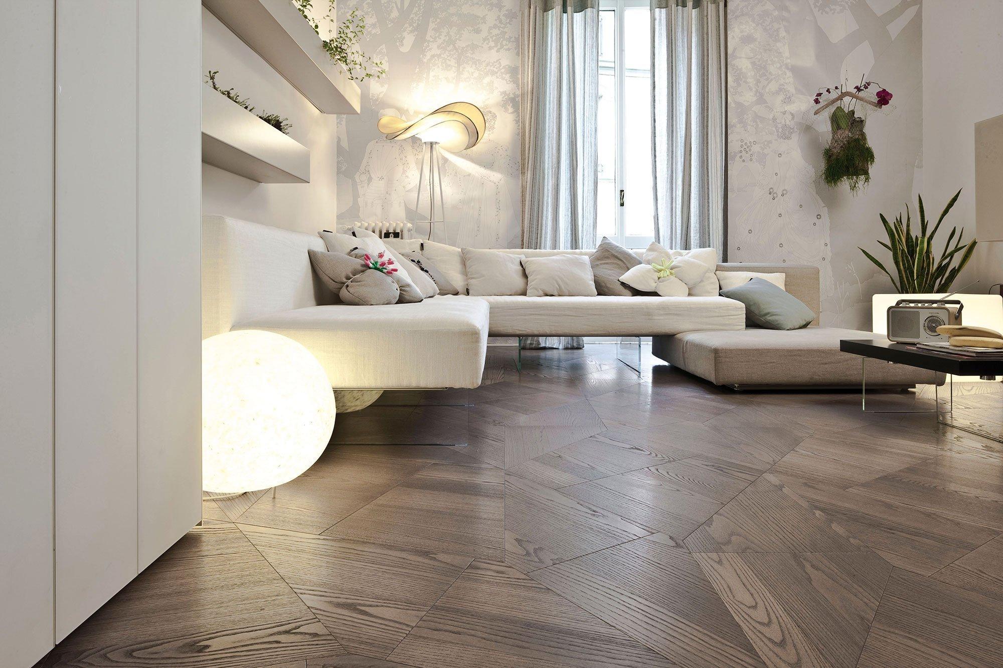 Ta pravá dřevěná podlaha? Jedině z masivu!