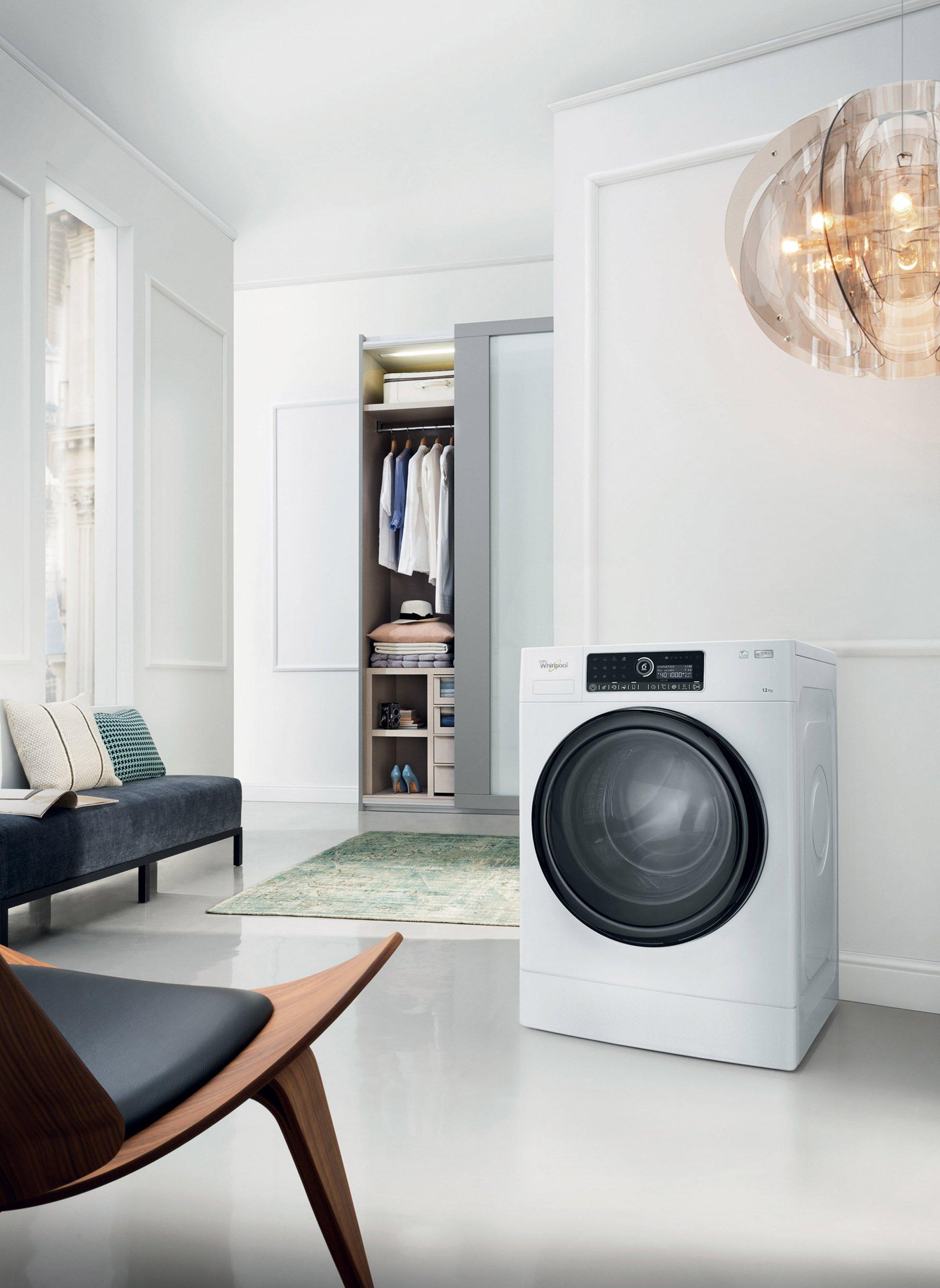 Rébus zvaný pračka - kam umístit pračku?