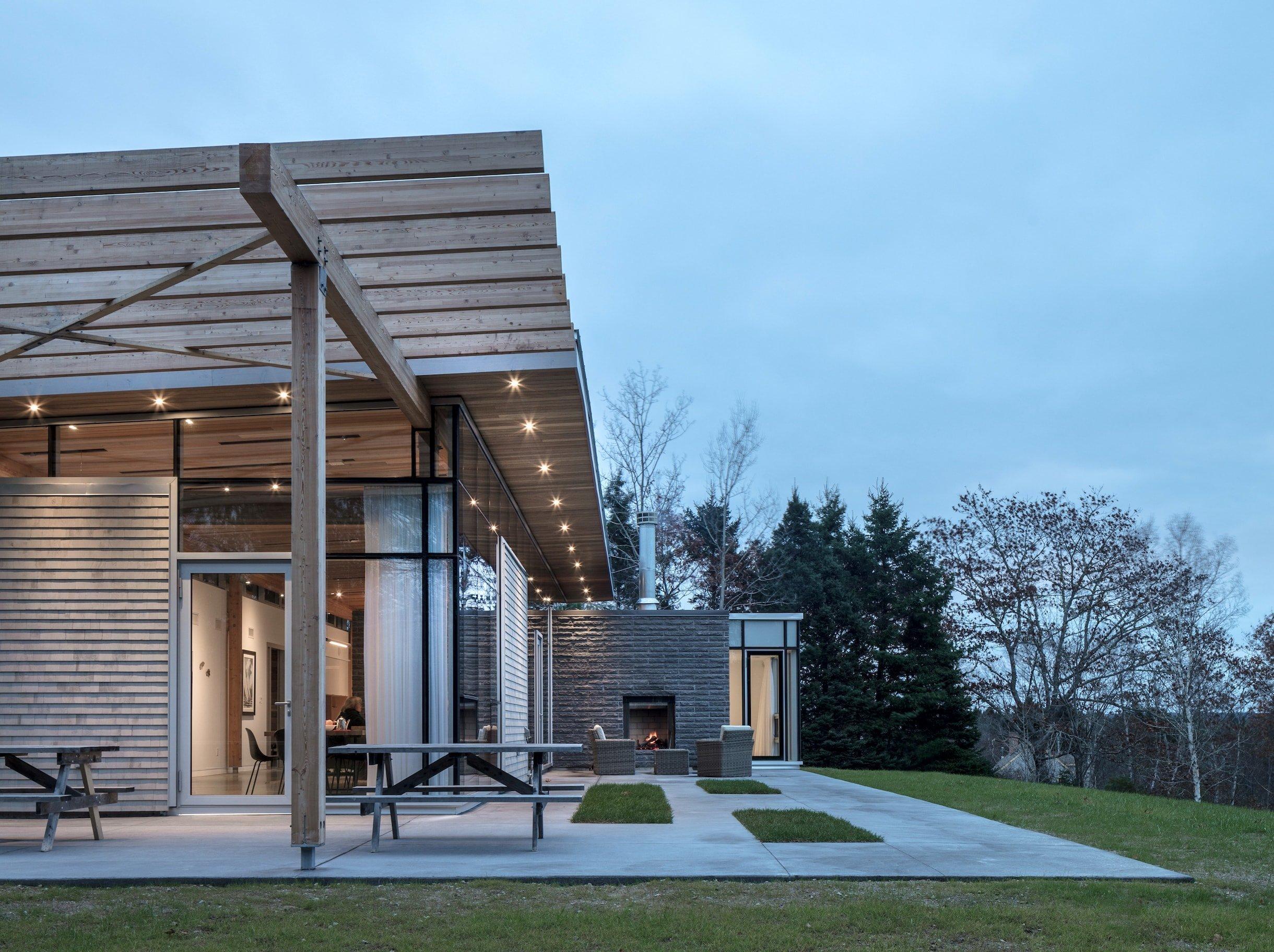 Ohromující moderní bydlení navržené pro pár v zasloužilém věku
