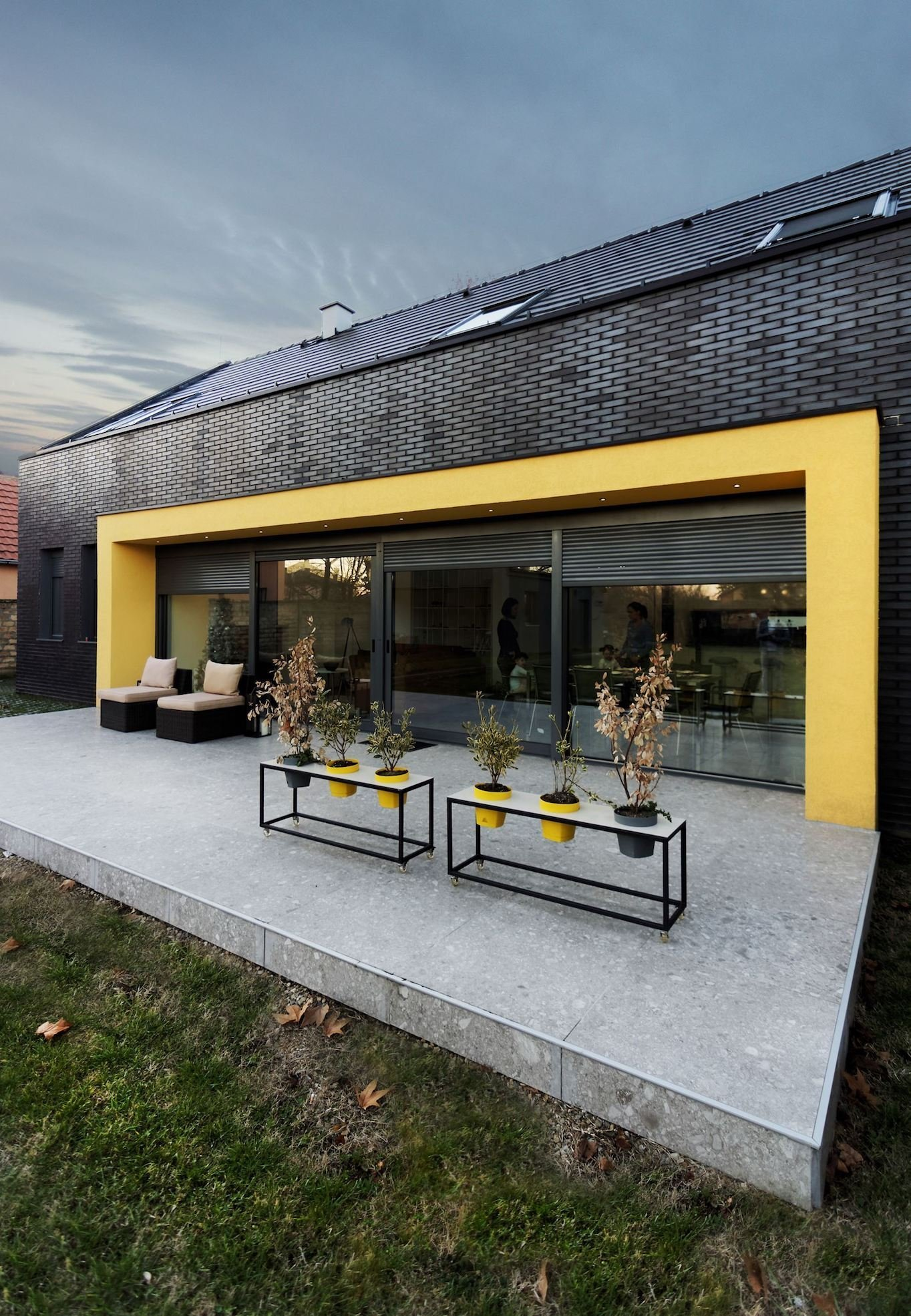 Prázdninový dům inspirovaný srbskou architekturou
