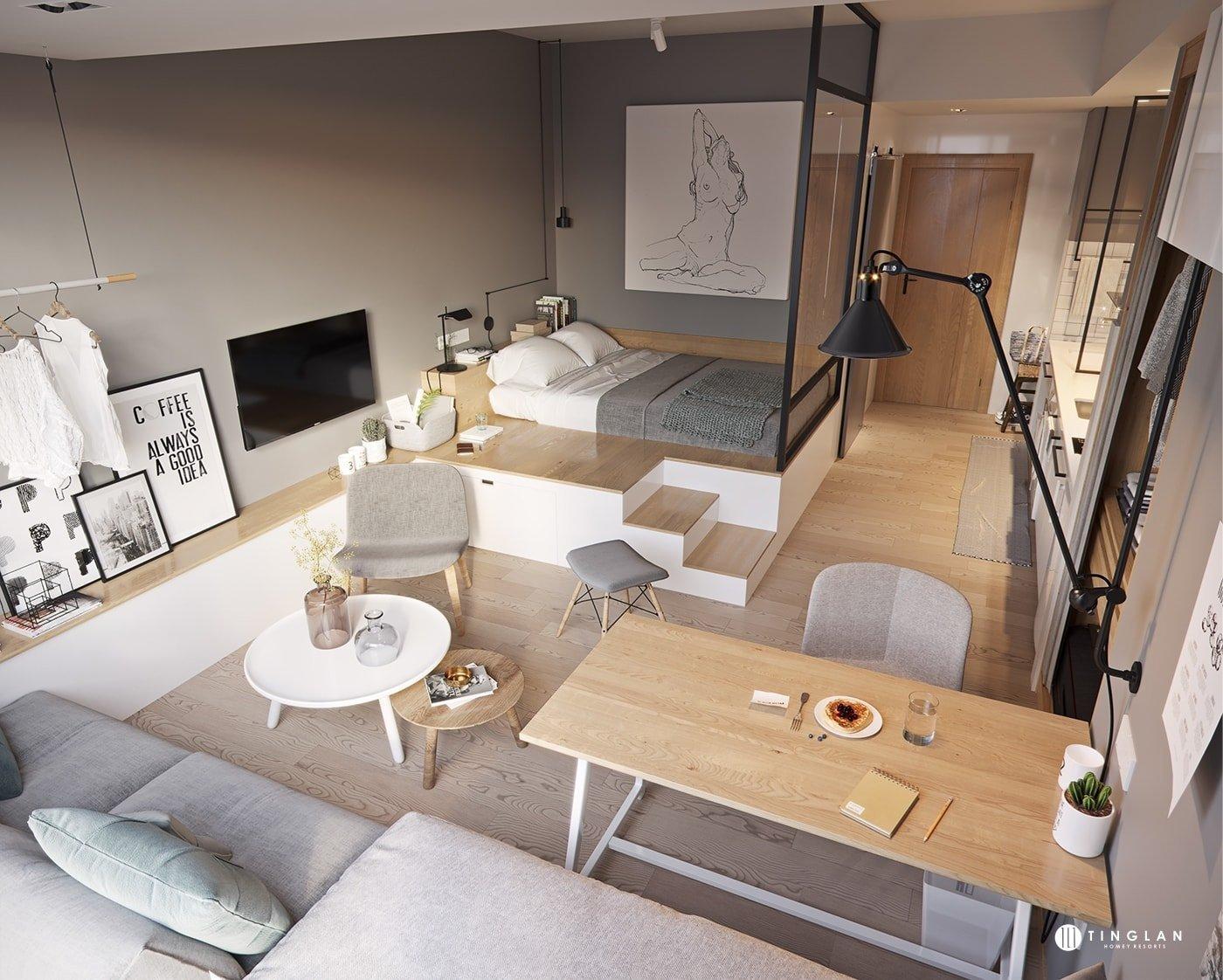 Osvědčené triky pro majitele malých bytů