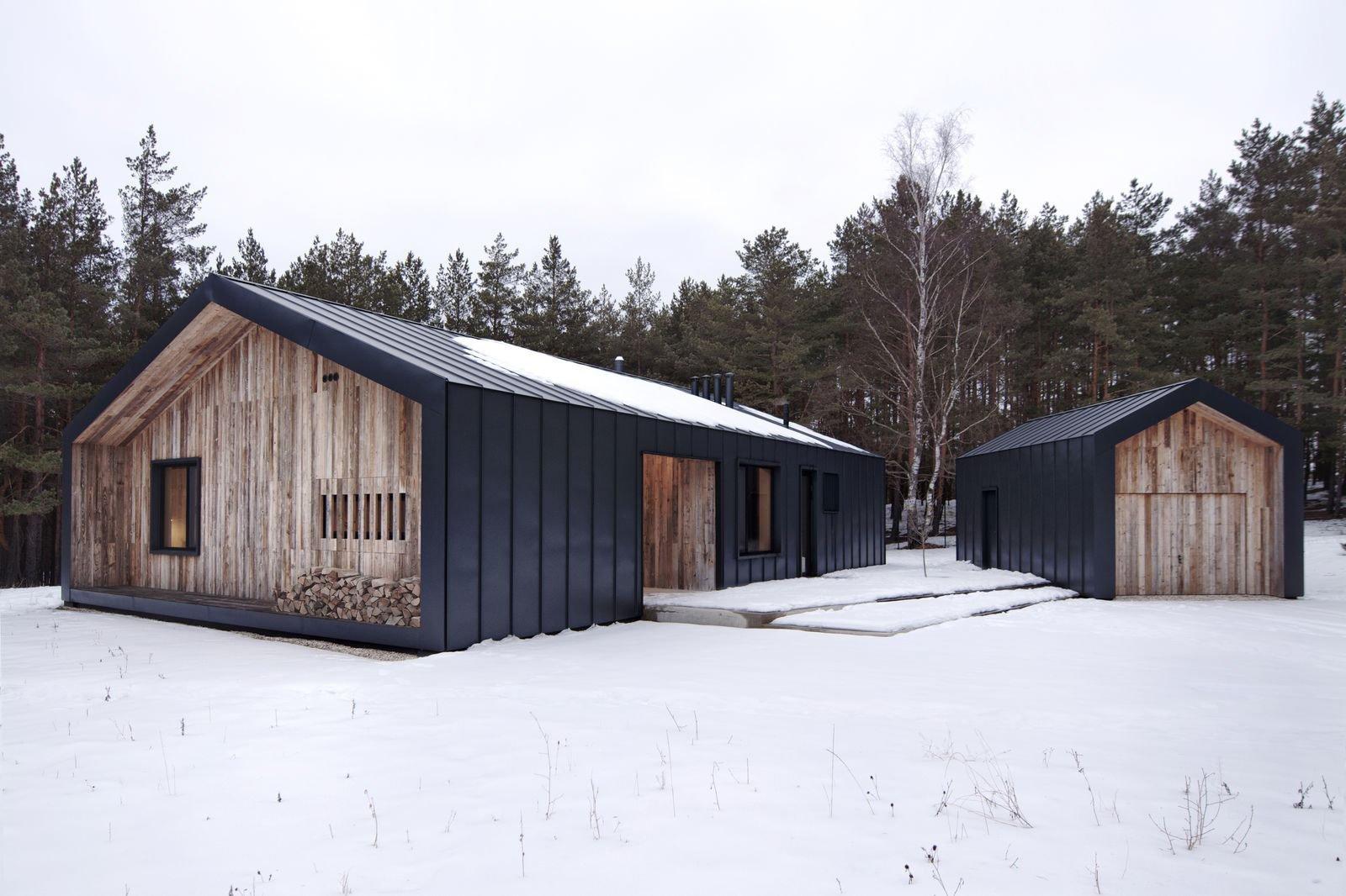 Dům propojený lesem