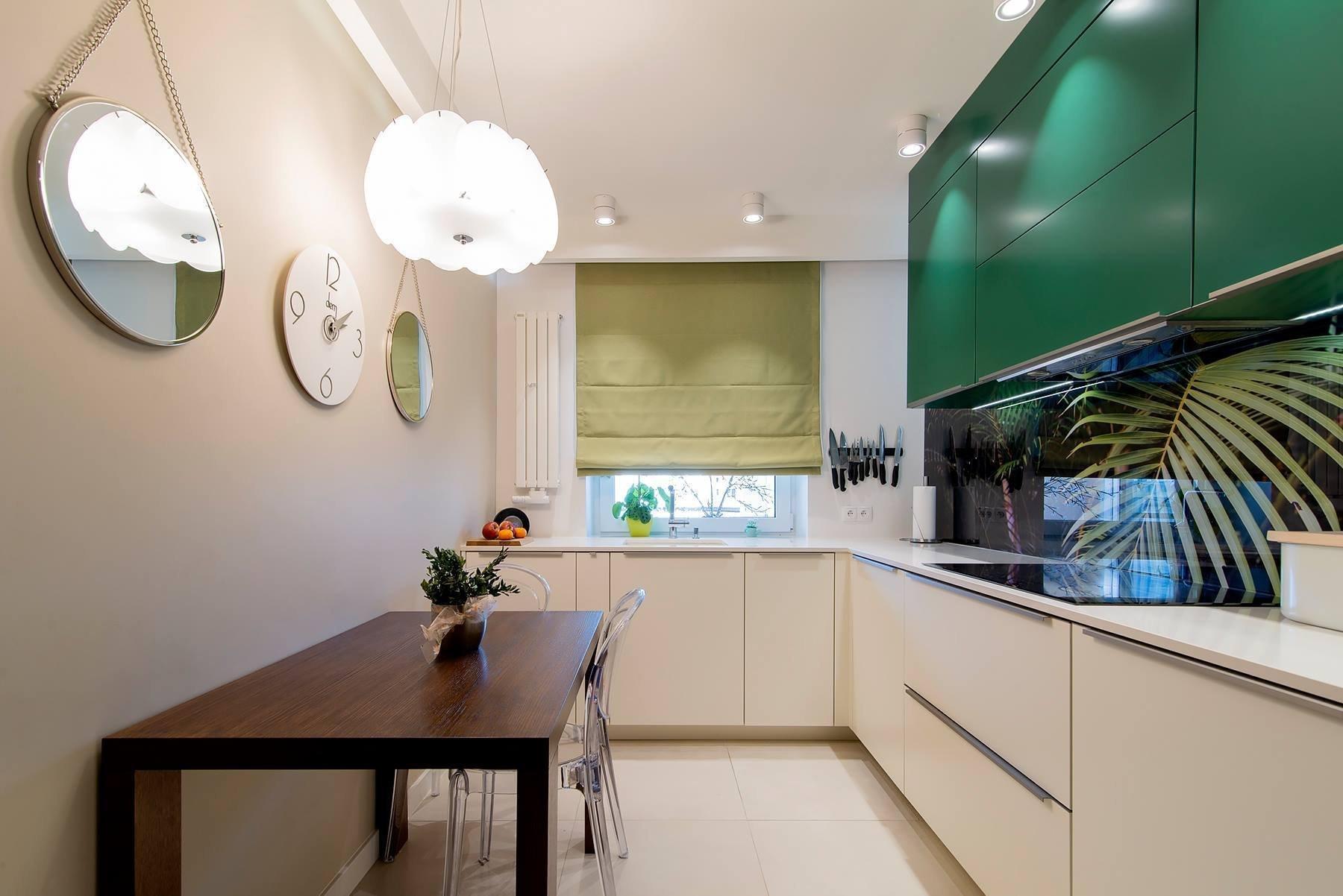 9e97fbeb605 Zelená barva v interiéru