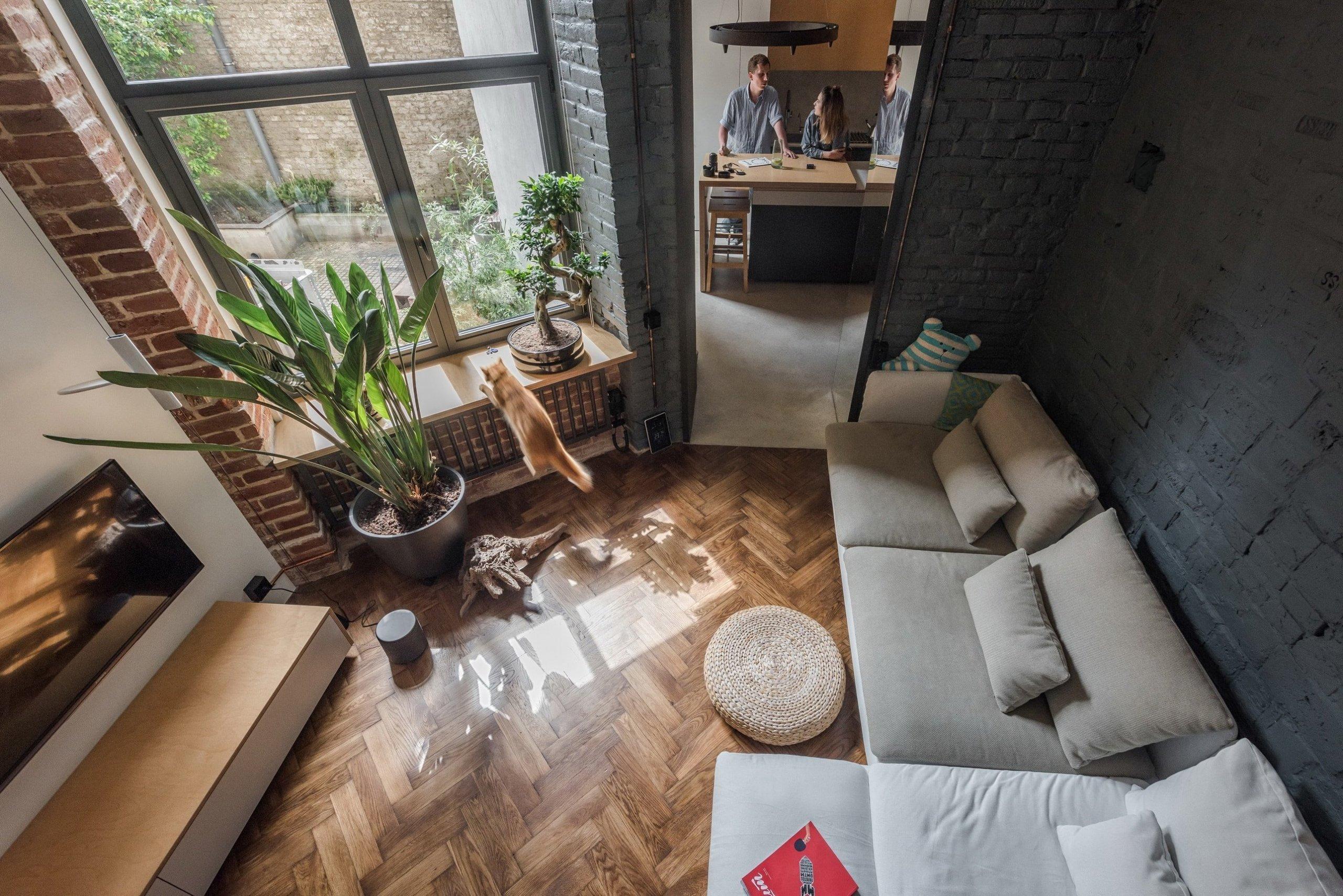 Bydlení s velkou duší - na 35 metrech čtverečních