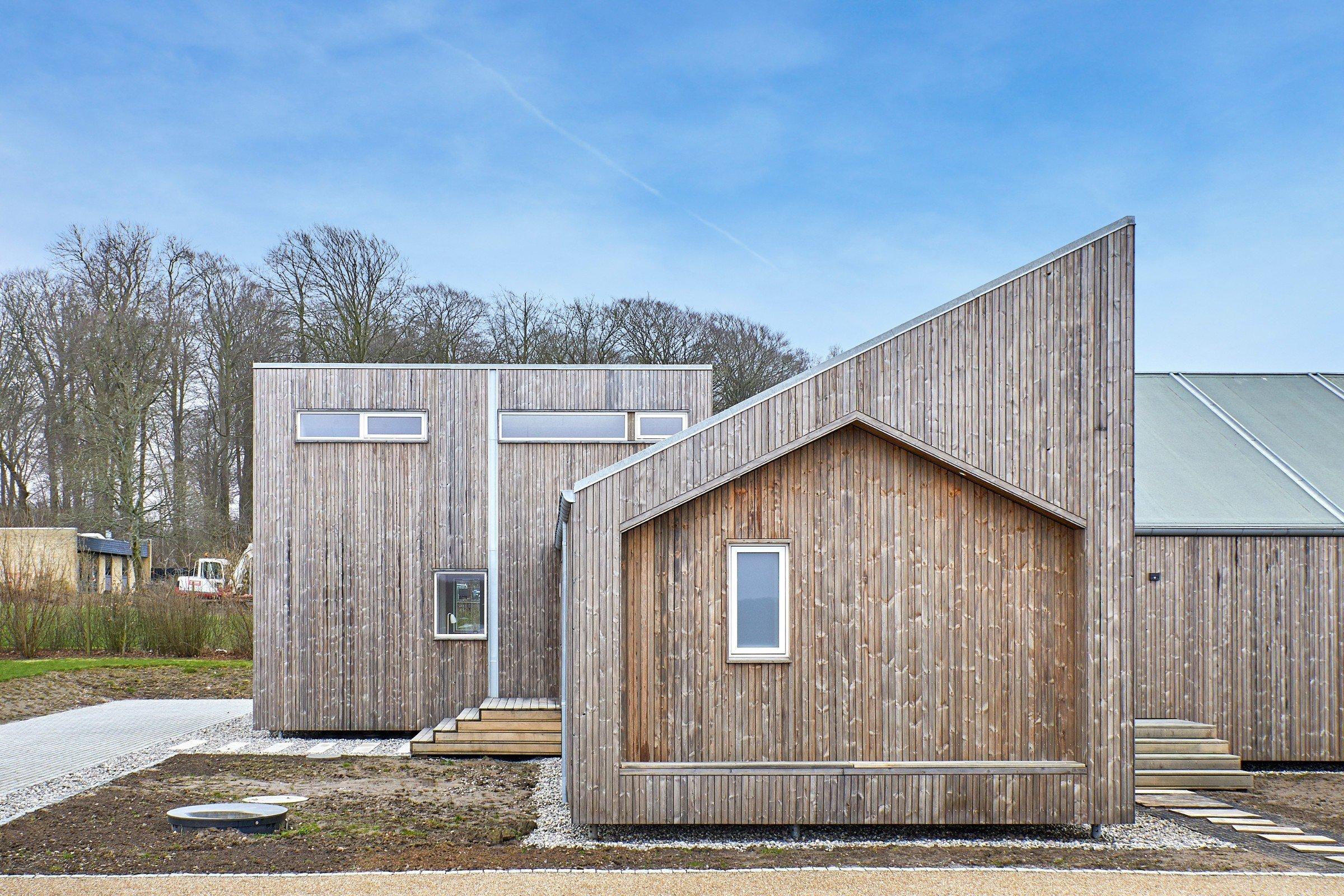 Dánové postavili první dům na světě z biologického odpadu