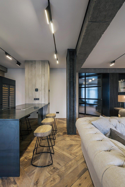 Rustikální stylový apartmán