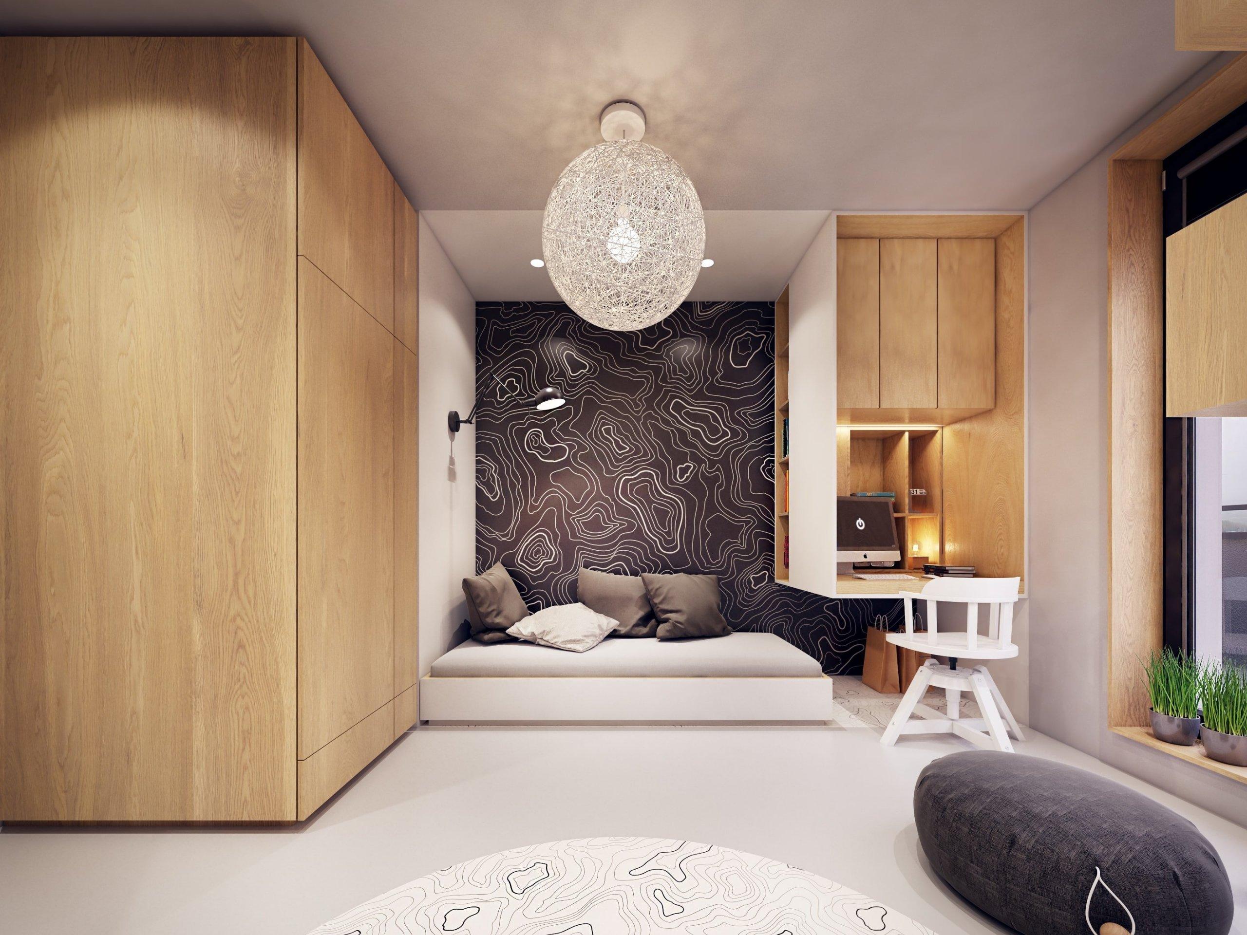 Všechny interiéry v sobě potřebují alespoň trochu barvy. Téměř každý architekt či designér do svých projektů kousek barev začleňuje, ať už v menší nebo větší míře. Tohoto pravidla dostál i interiér tohoto bytu, který v sobě skrývá hned několik barev, jež k sobě navzájem ladí.