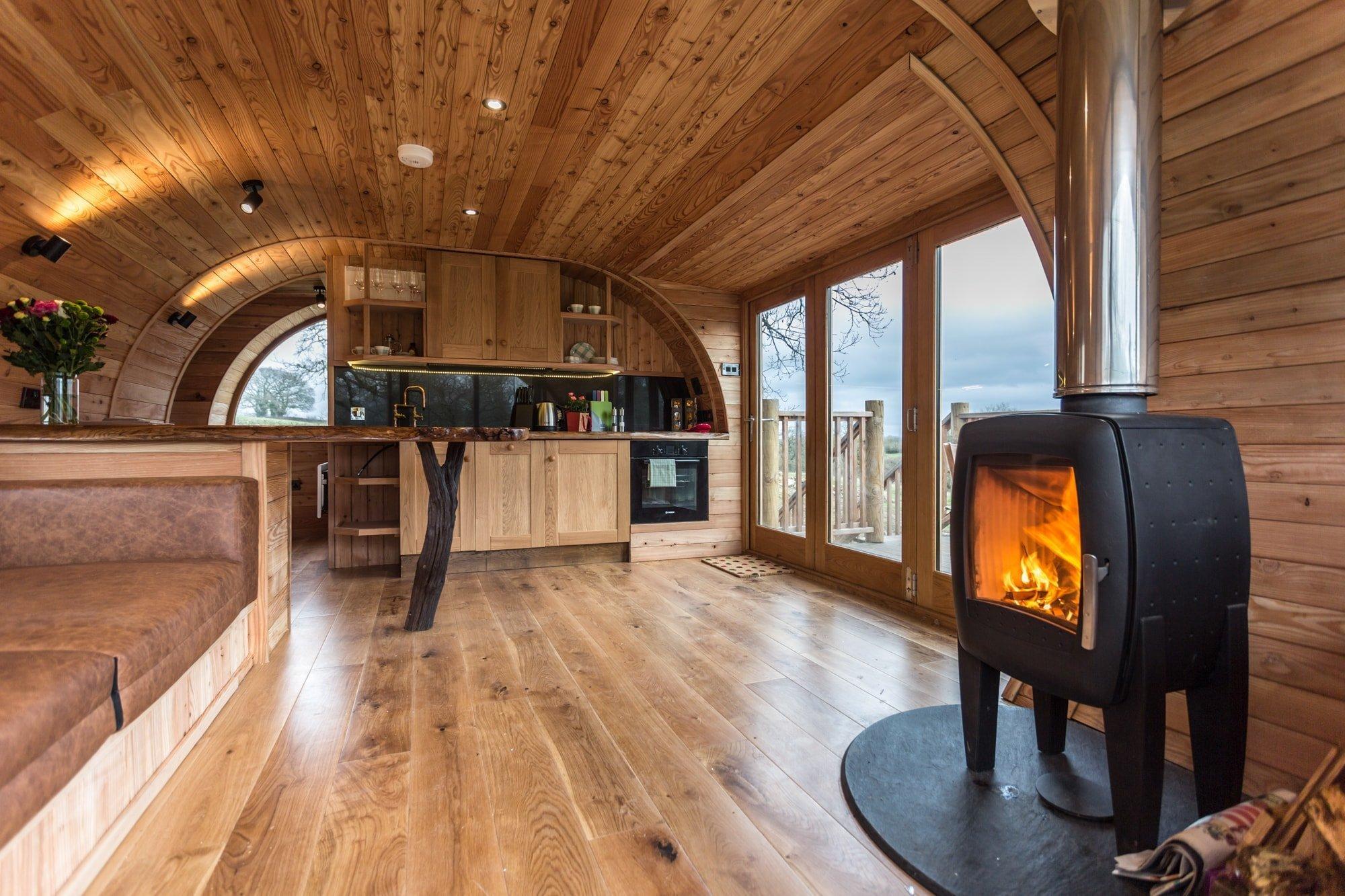 Unikátní stromový dům v Anglii