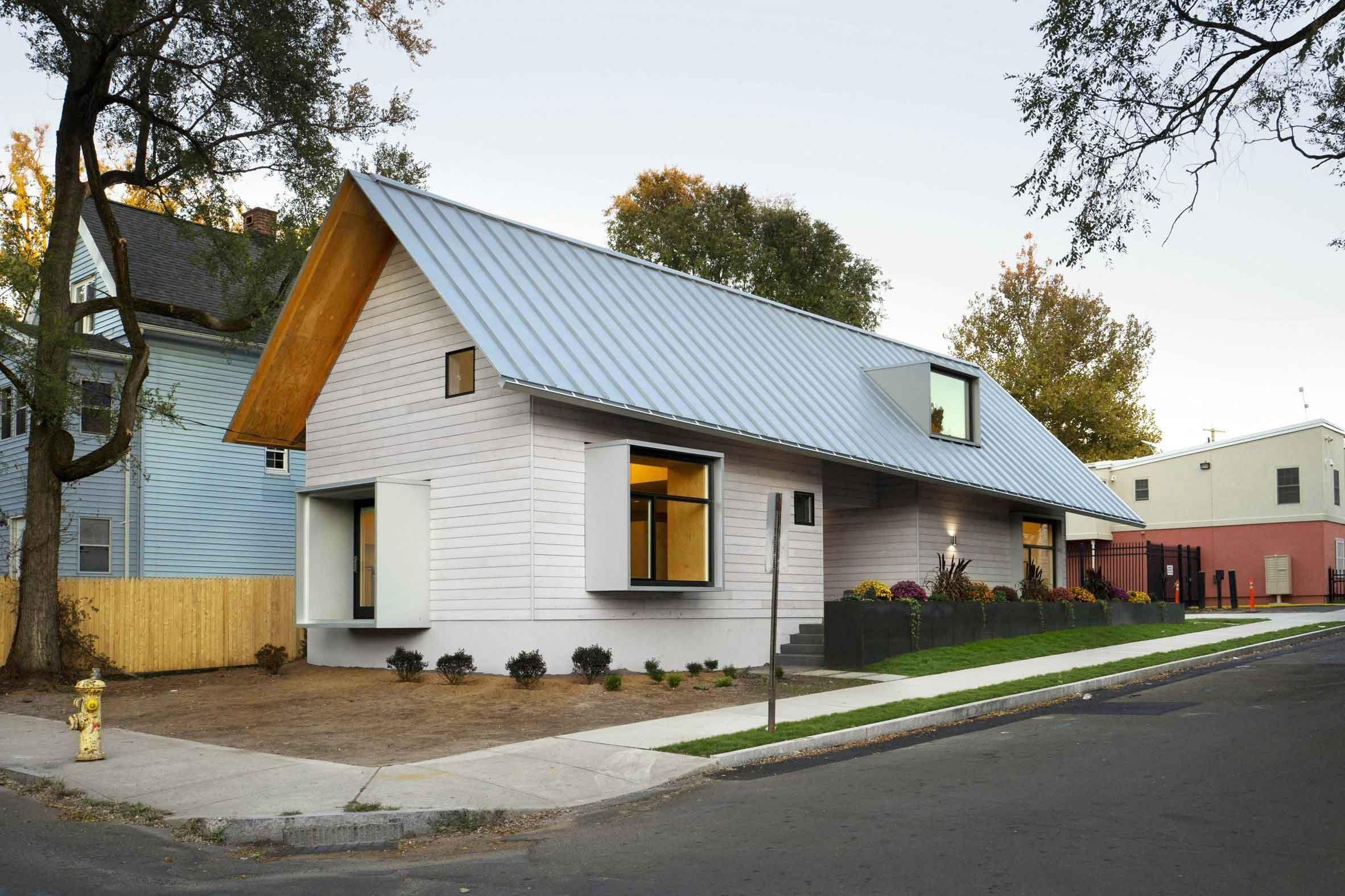 Studenti architektury navrhli dům pro bezdomovce
