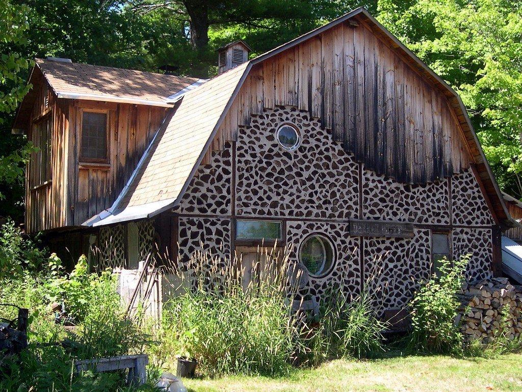 Cordwood – moderní dřevěný dům ze starověku
