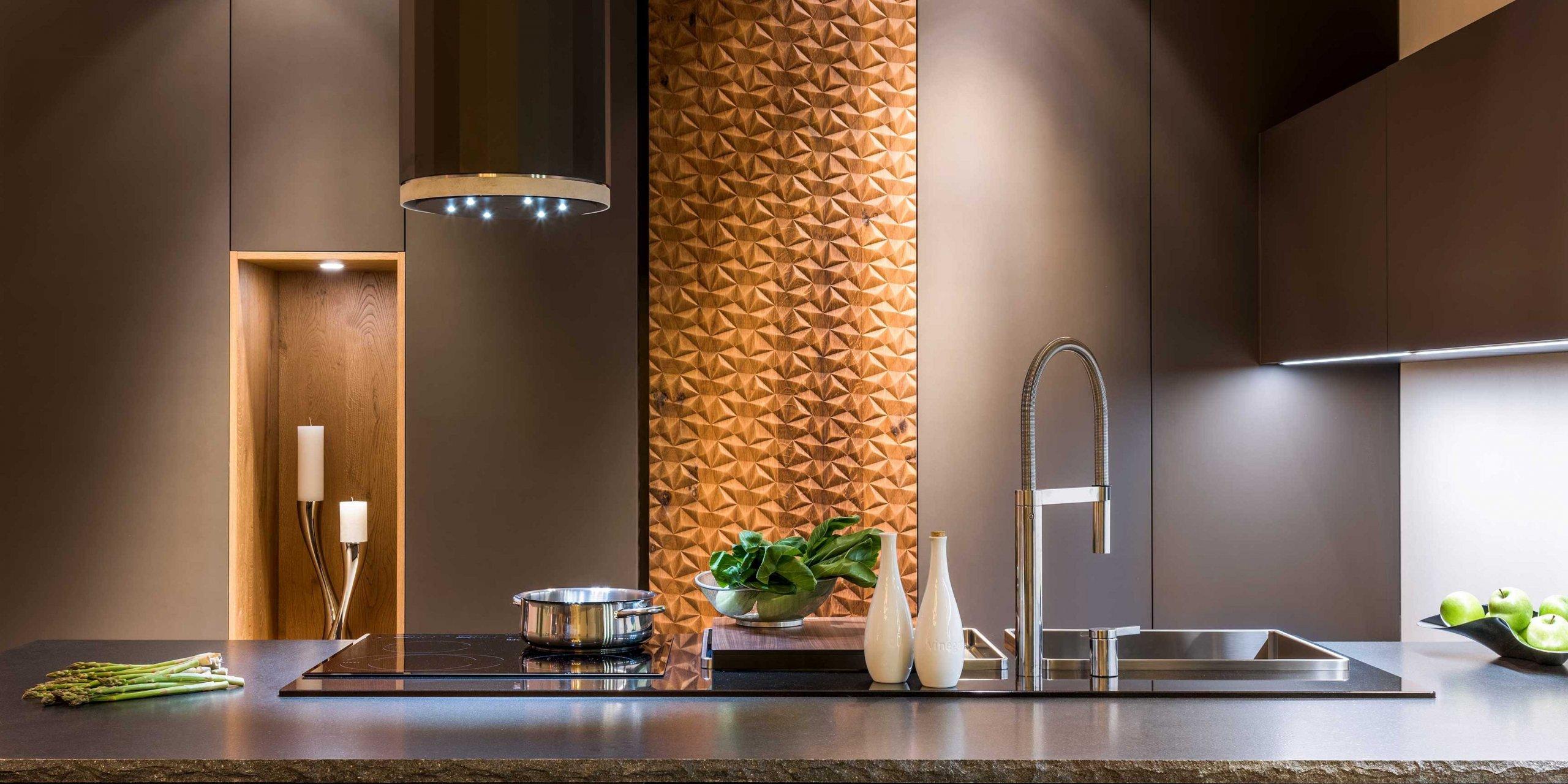 Kuchyně jako moderní galerie