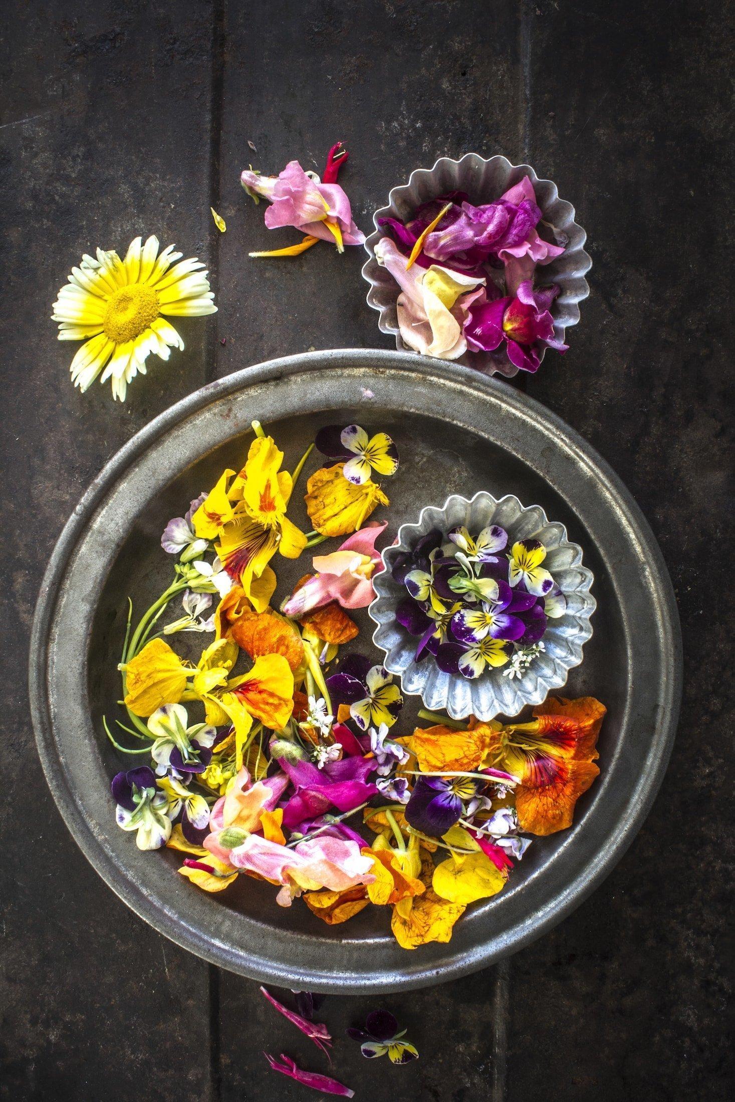 Květiny, na kterých si pochutnáte!