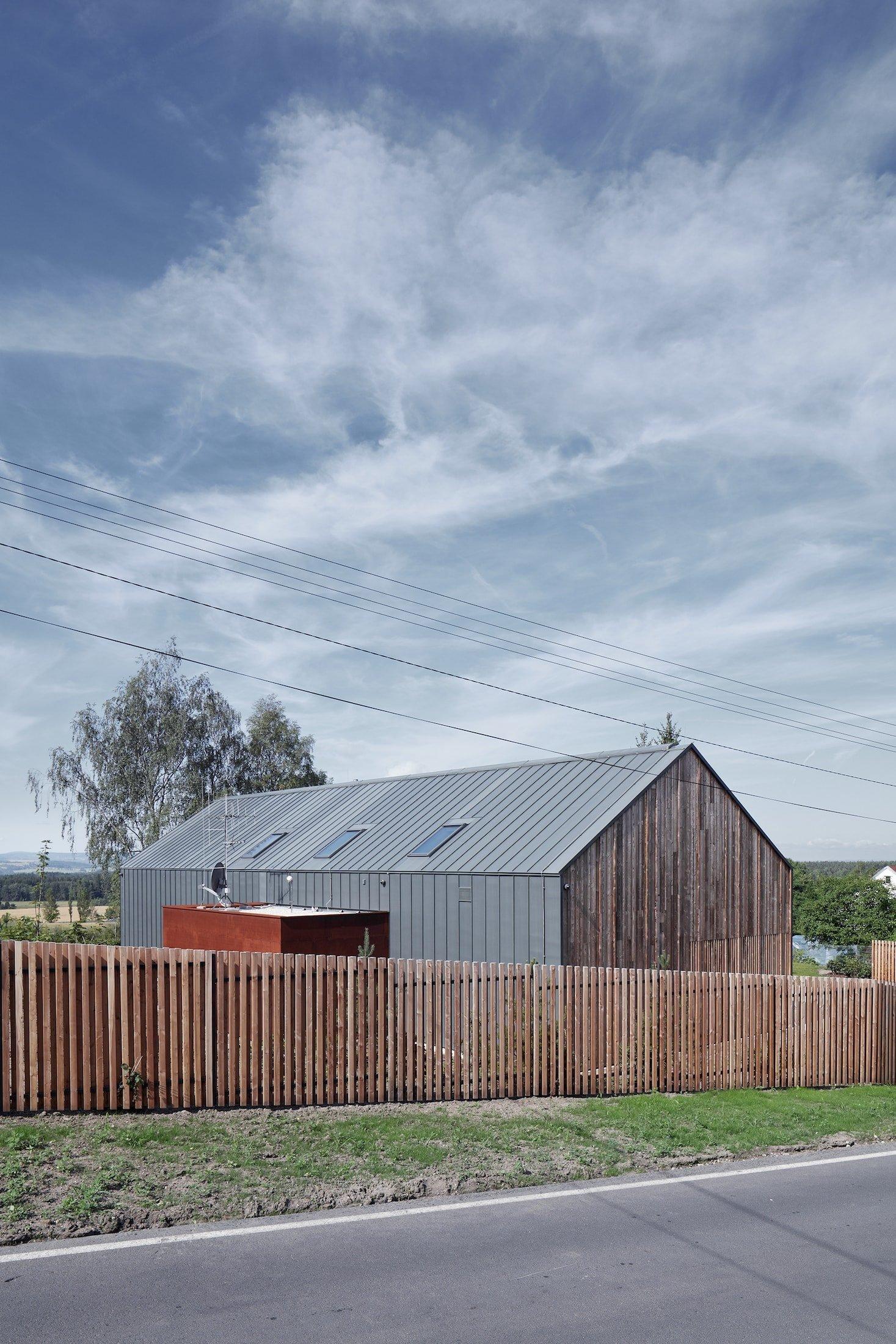 Unikátní dřevostavba - Engel House