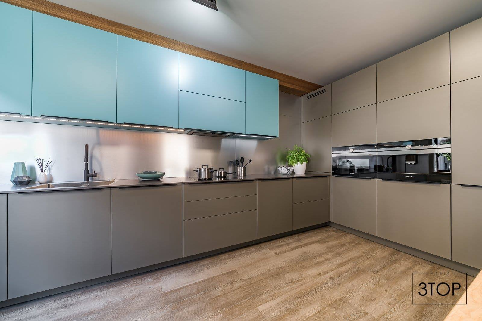 Modrá je dobrá. Ale co v kuchyni?