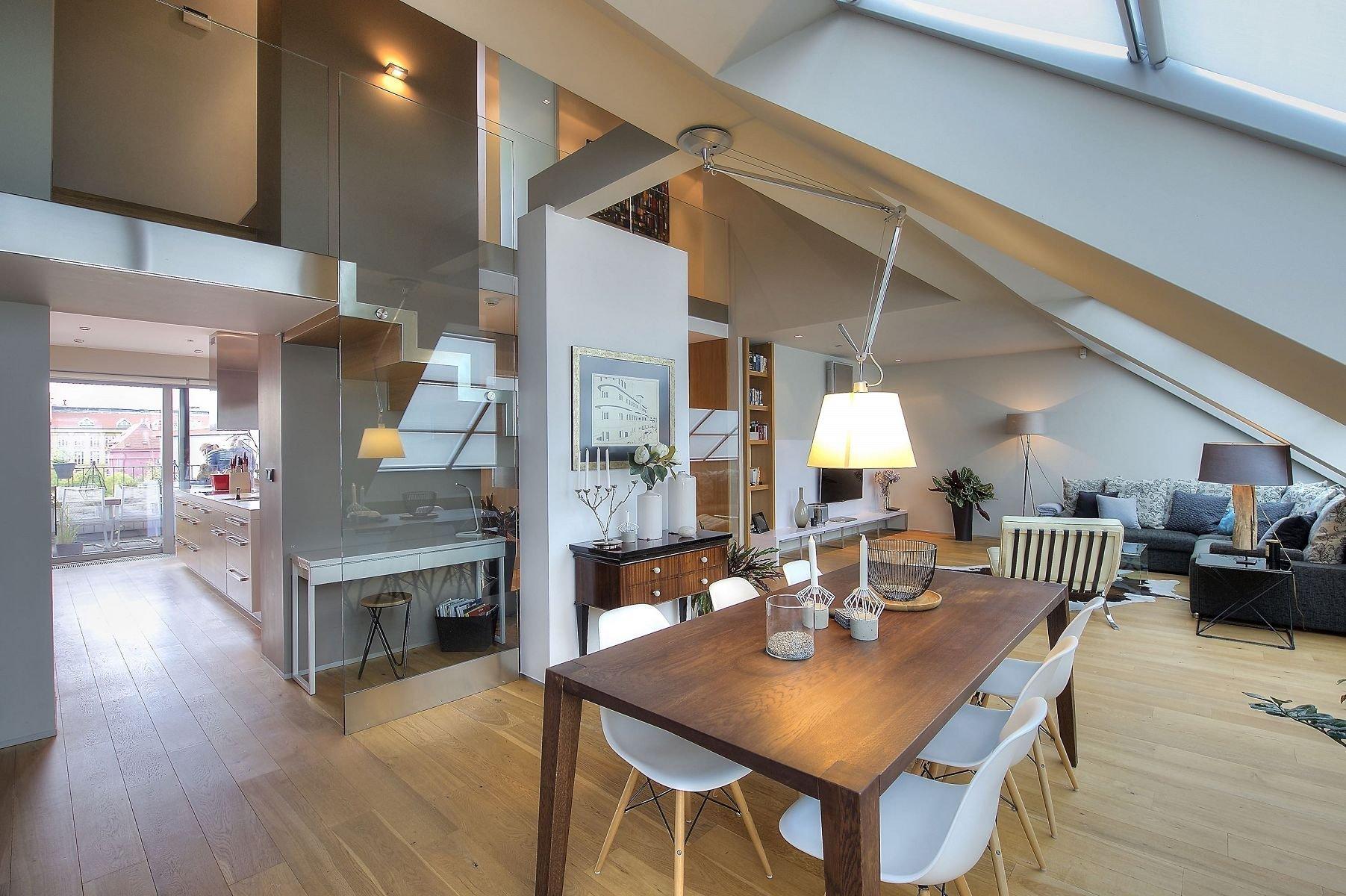 Proměna půdy v podkrovní byt
