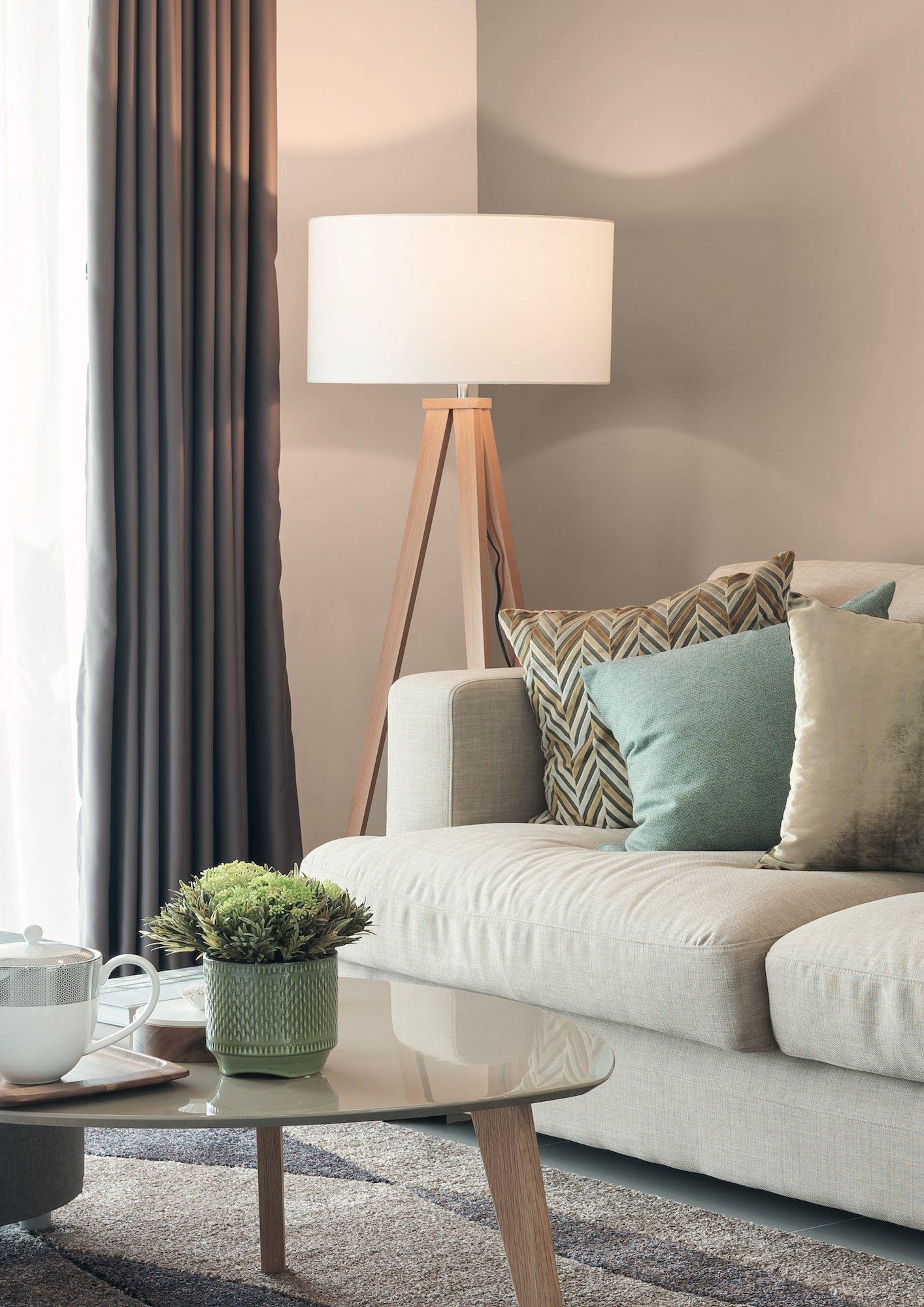 Oblíbený skandinávský styl se stal inspirací pro novou řadu omyvatelných interiérových barev Essence - Foto: Primalex
