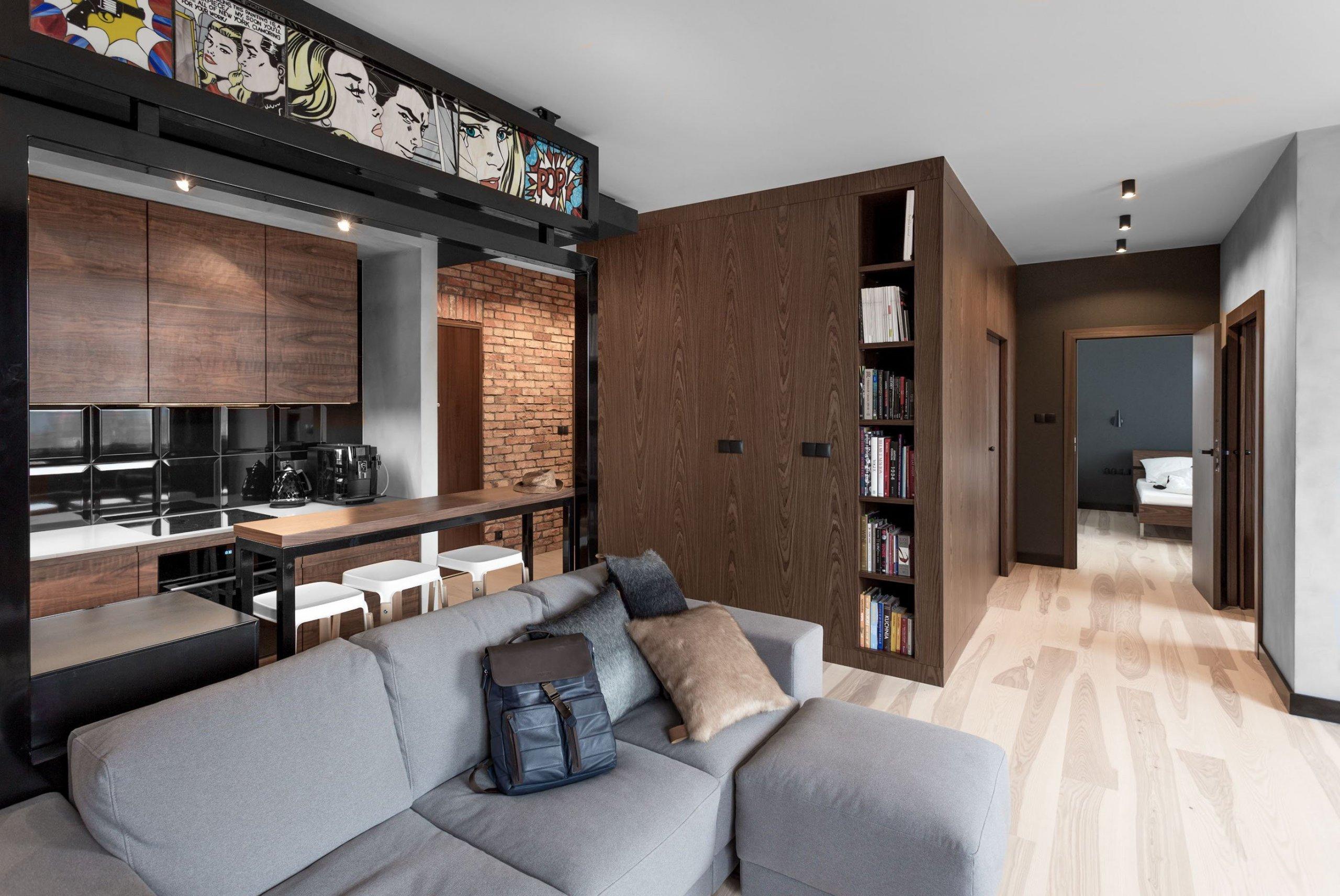 Elegantní bydlení má doplňky s prvky komiksu