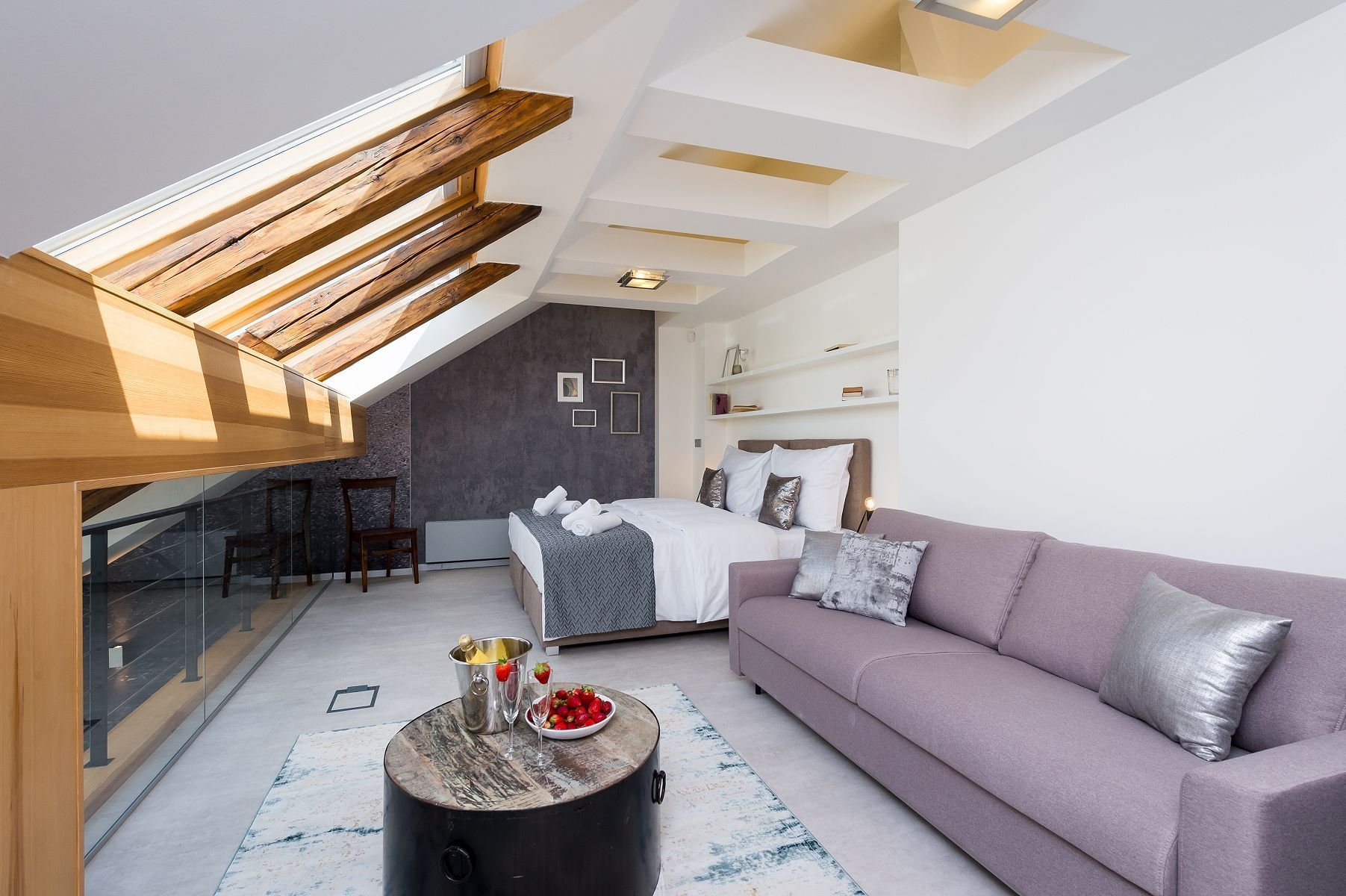 Luxusní mezonetový byt v centru Prahy