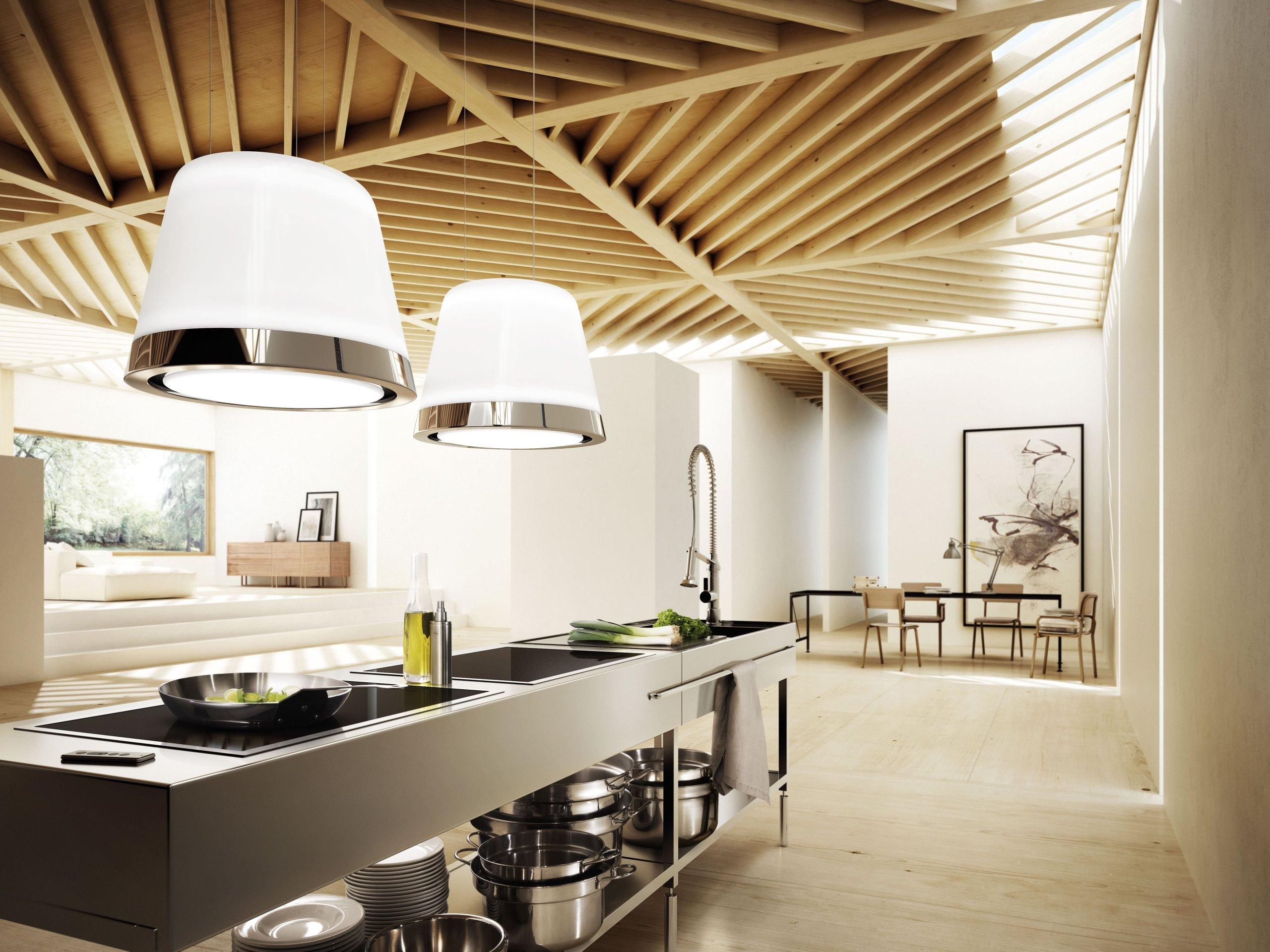 Zapomeňte na klasické digestoře, které kazí krásu vašich kuchyní.  Ukážeme vám digestoře, které nejen skvěle fungují, ale i nádherně vypadají. Okouzlí i vás?