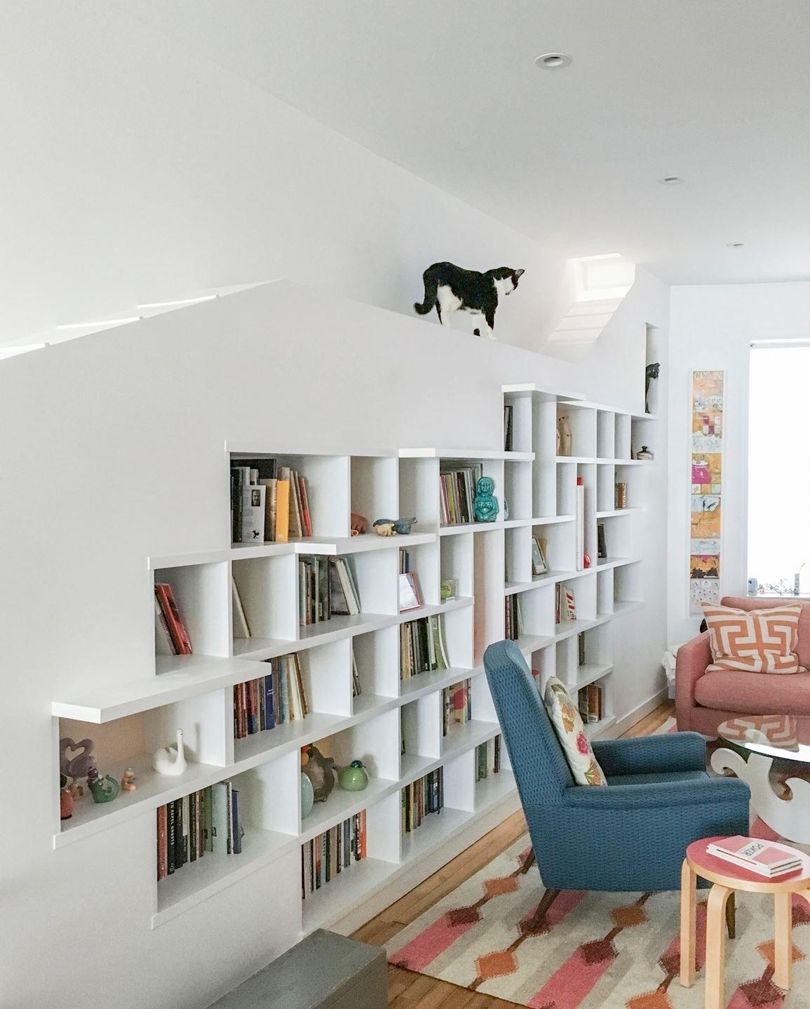 Dům pro pár spisovatelů a jejich kočky