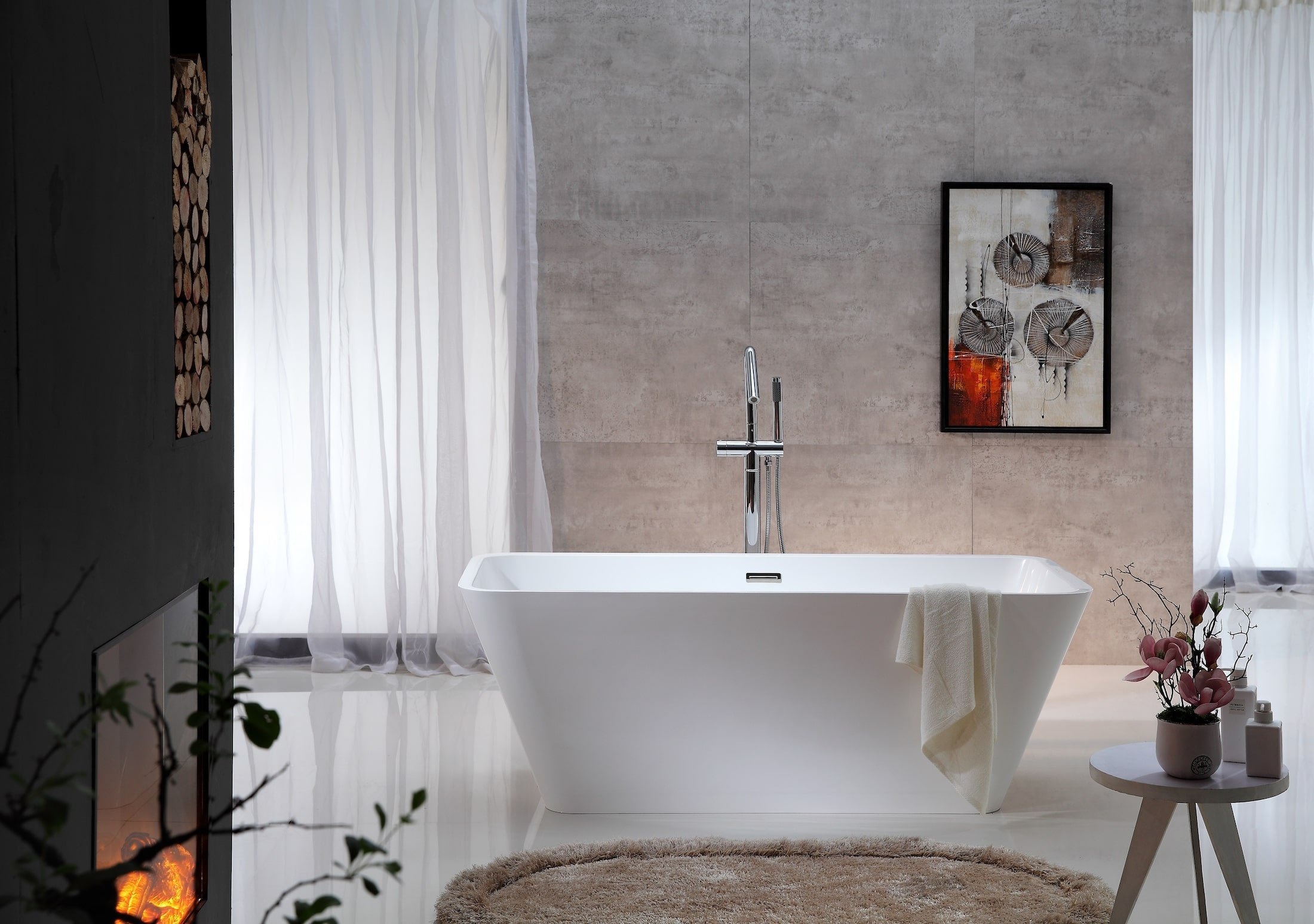 Rekonstruujete koupelnu a zvažujete, jaký materiál použít? Poradíme vám! Stěny a podlaha v koupelně by měly být připraveny na podmínky v intencích domácího extrémně mokrého prostředí. Rozhodující je odolnost proti vlhkosti, podlaha by neměla být kluzká ani tehdy, když je mokrá. Proto není výběr materiálů neomezený, je však dostatečně pestrý na to, aby si každý mohl vybrat to, co je jeho srdci blízké.